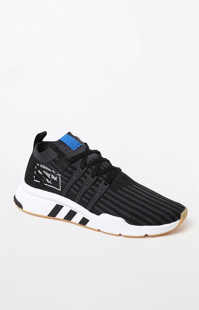 pretty nice fc61f f73ab adidas. Mens Black Eqt Support Mid Adv Primeknit Bp Shoes
