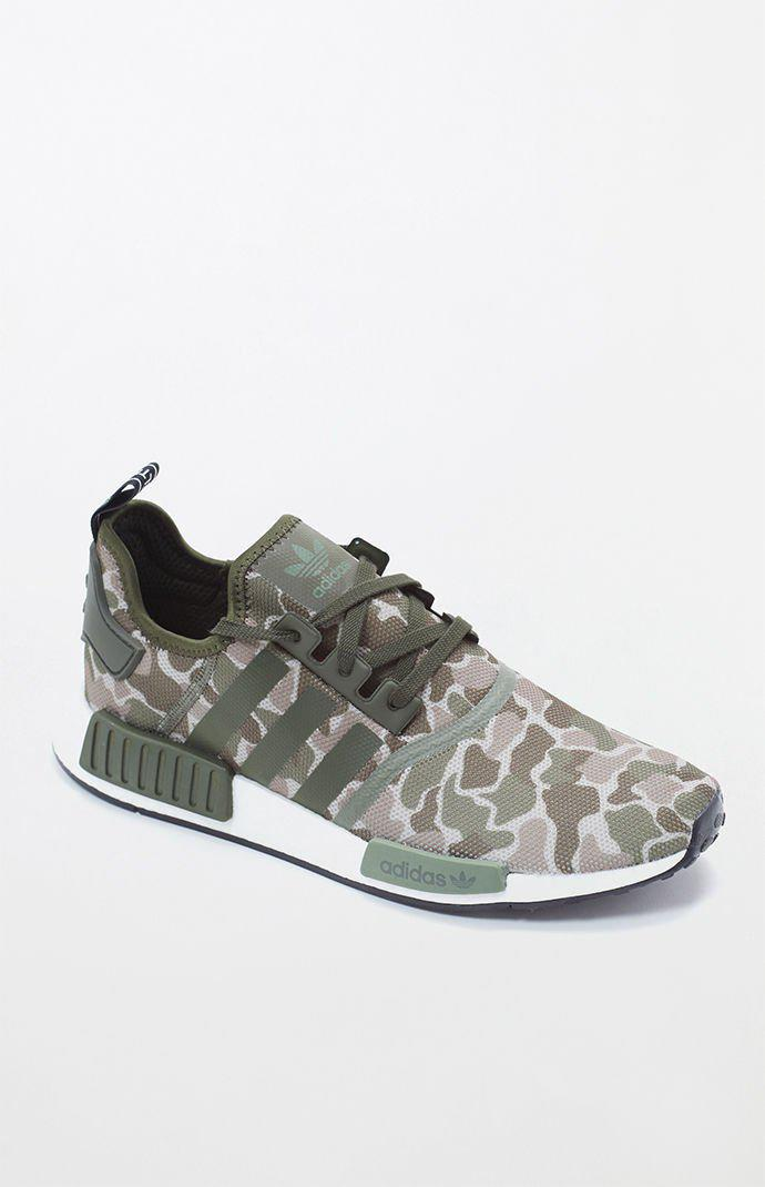 In For Nmd r1 Camouflage Lyst Shoes Men Gray Adidas XPkiTuwOZ