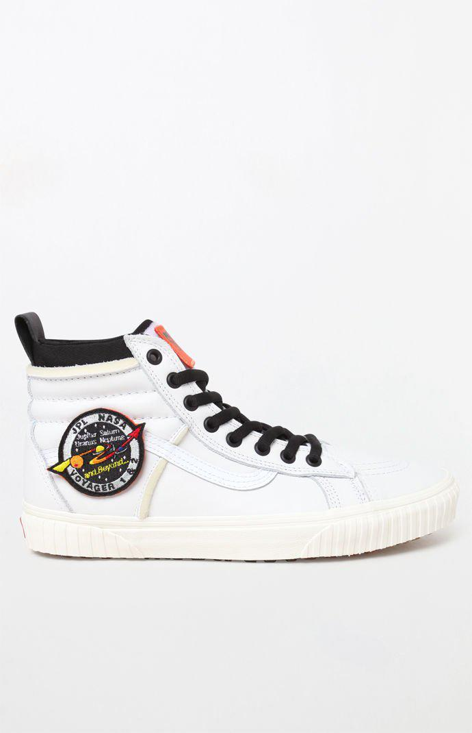 31eef01b1e Lyst - Vans X Nasa Space Voyager Sk8-hi 46 Dx White Shoes in White ...