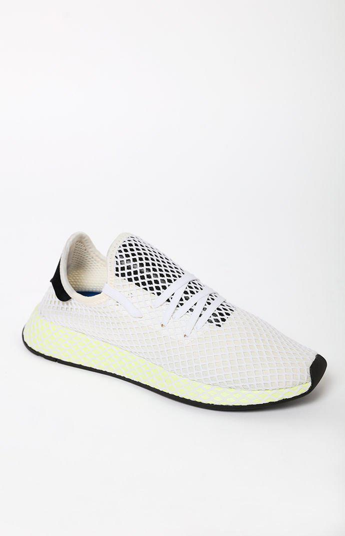 3726896f802f1 Lyst - adidas Deerupt Runner Shoes in White for Men