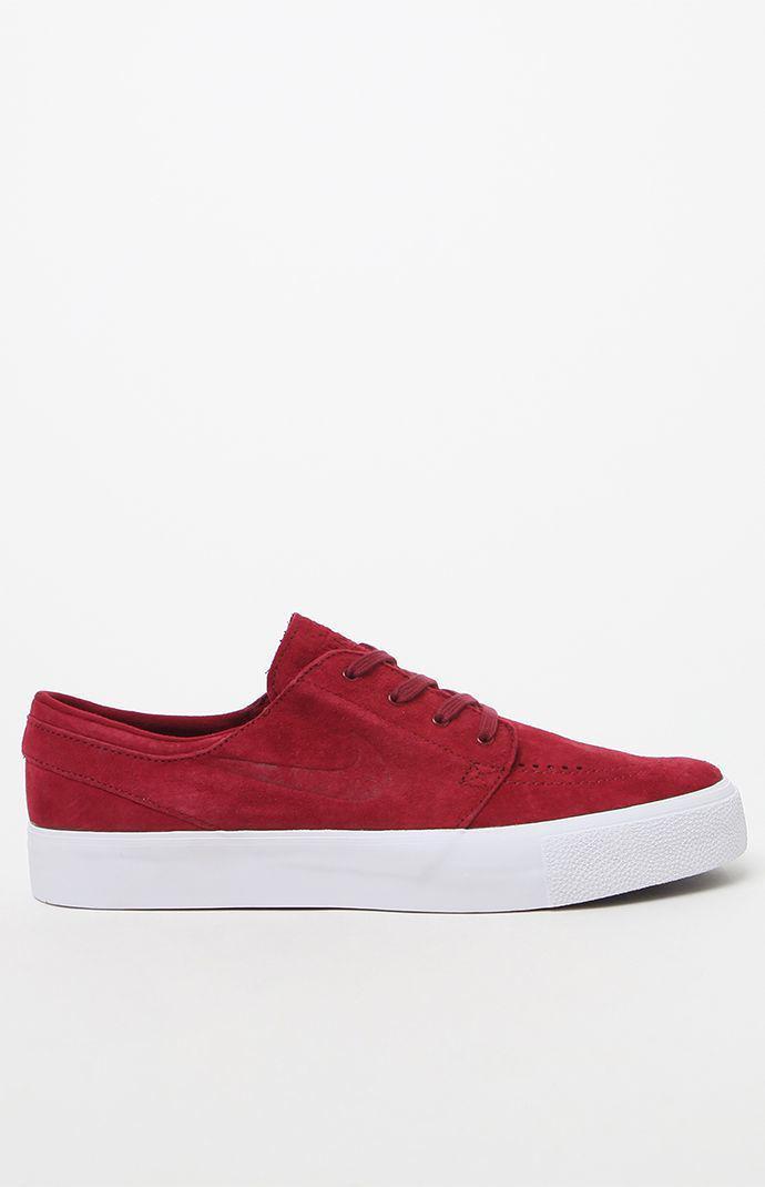 bf23b5aaef Nike - Zoom Stefan Janoski Premium High Tape Red Shoes for Men - Lyst. View  fullscreen