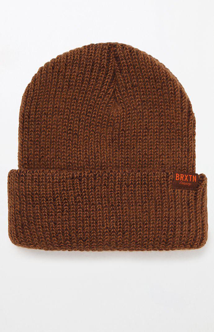 036d776986a29 Lyst - Brixton Redmond Copper Beanie in Brown for Men