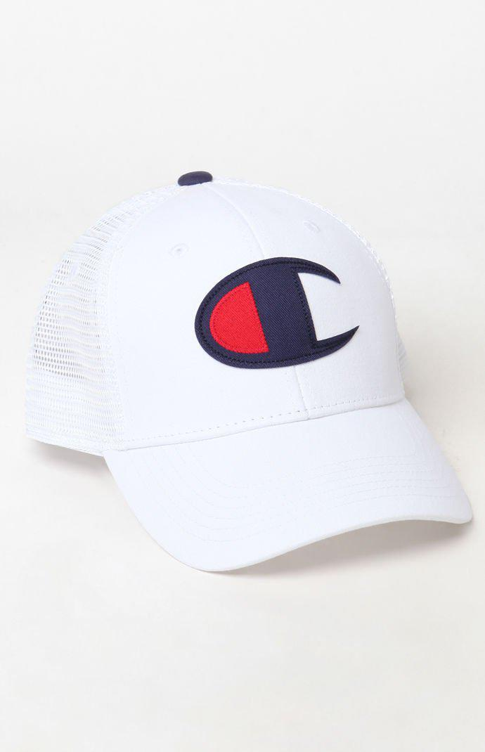 f546206ecae Lyst - Champion Classic Twill Mesh Snapback Dad Hat in White for Men ...