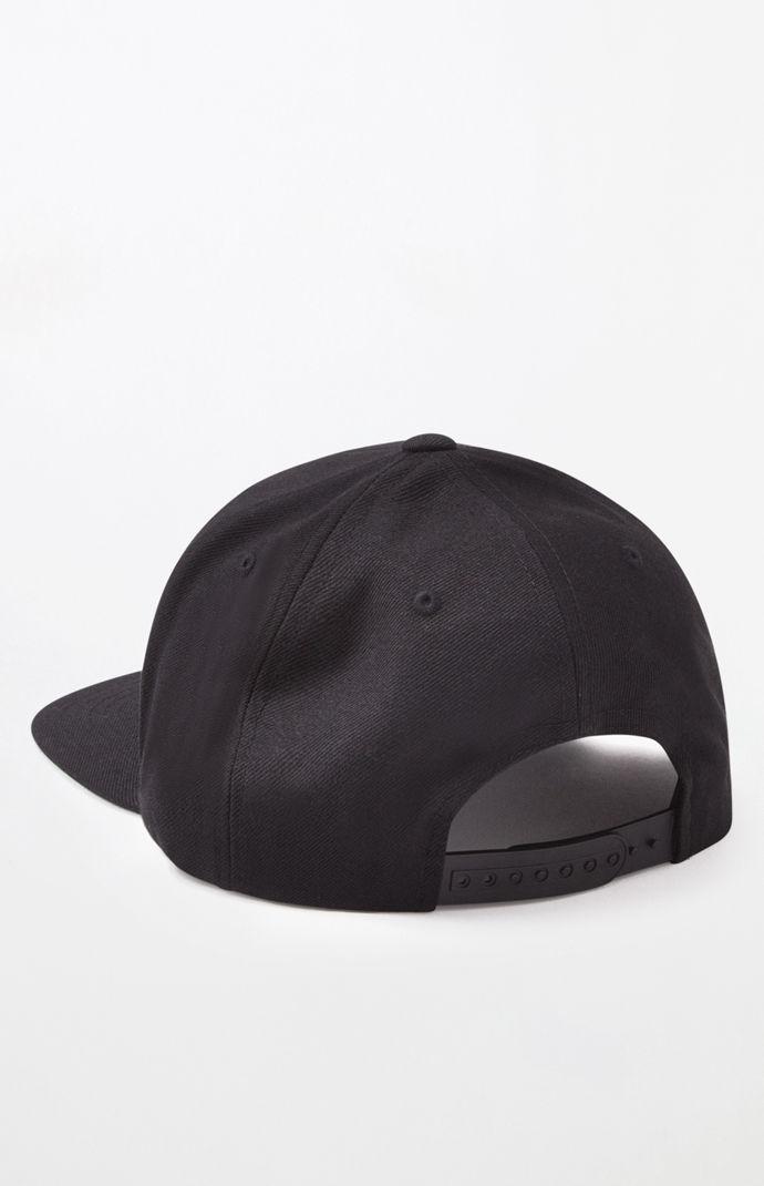 488743df25a Brixton - Black Wheeler Snapback Hat for Men - Lyst. View fullscreen