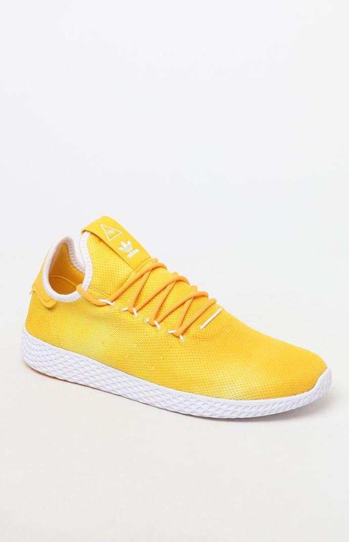 8ca16f484 Lyst - adidas X Pharrell Williams Hu Holi Yellow Tennis Shoes in ...