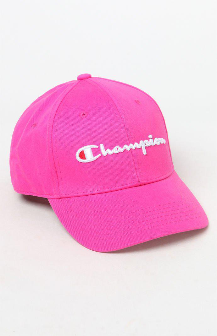 b8c4a0ad8e1 Champion. Women s Pink Life® Classic Twill Hat ...