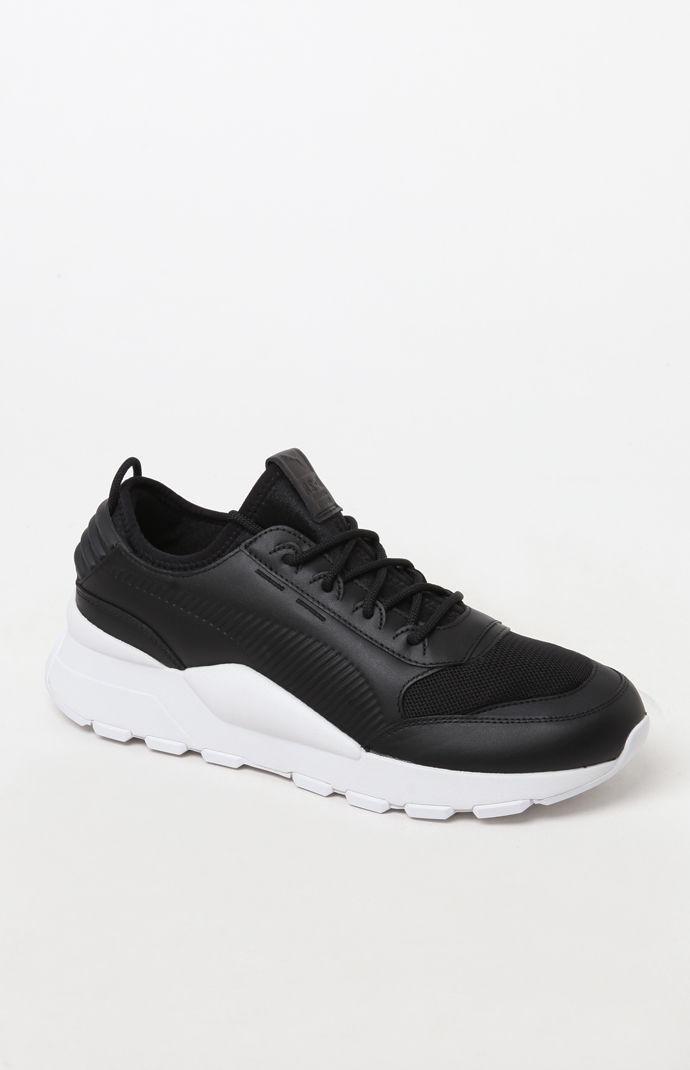 4af96d0011dd Lyst - PUMA Rs-0 Sound Black Shoes in Black for Men