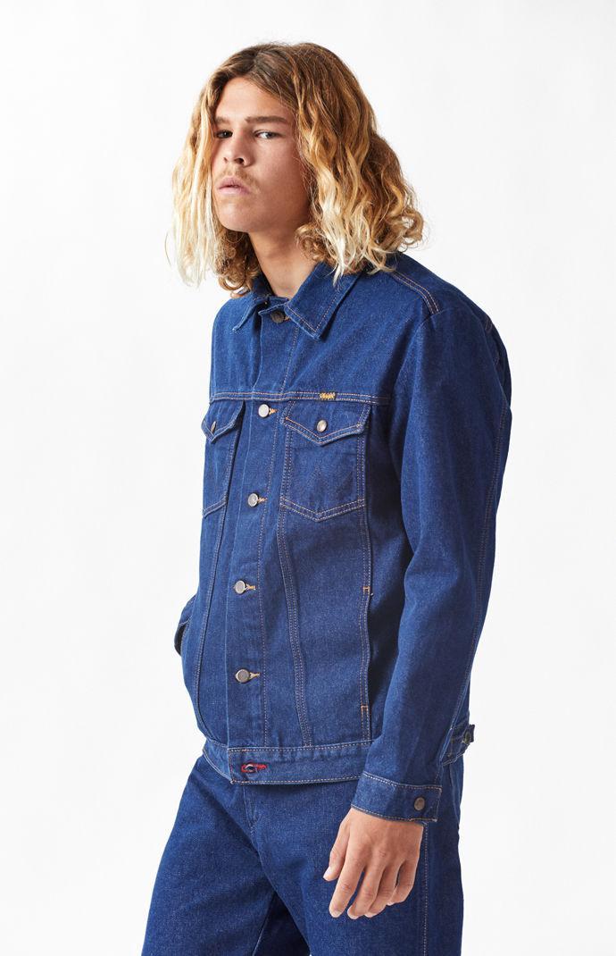 Lyst Vans X Wrangler Denim Jacket In Blue For Men