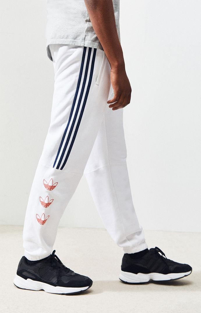 e03f109d942a Adidas - White Ft Sweatpants for Men - Lyst. View fullscreen