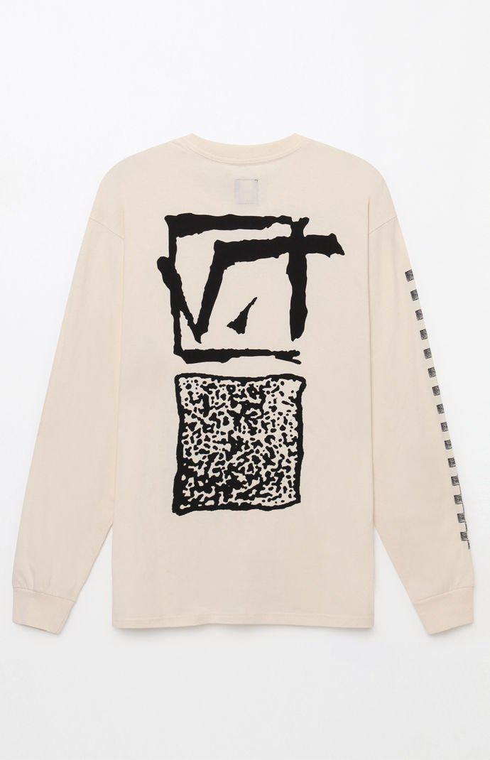 329ba7b05f Lyst - Vans Vintage Square Root Long Sleeve T-shirt in White for Men