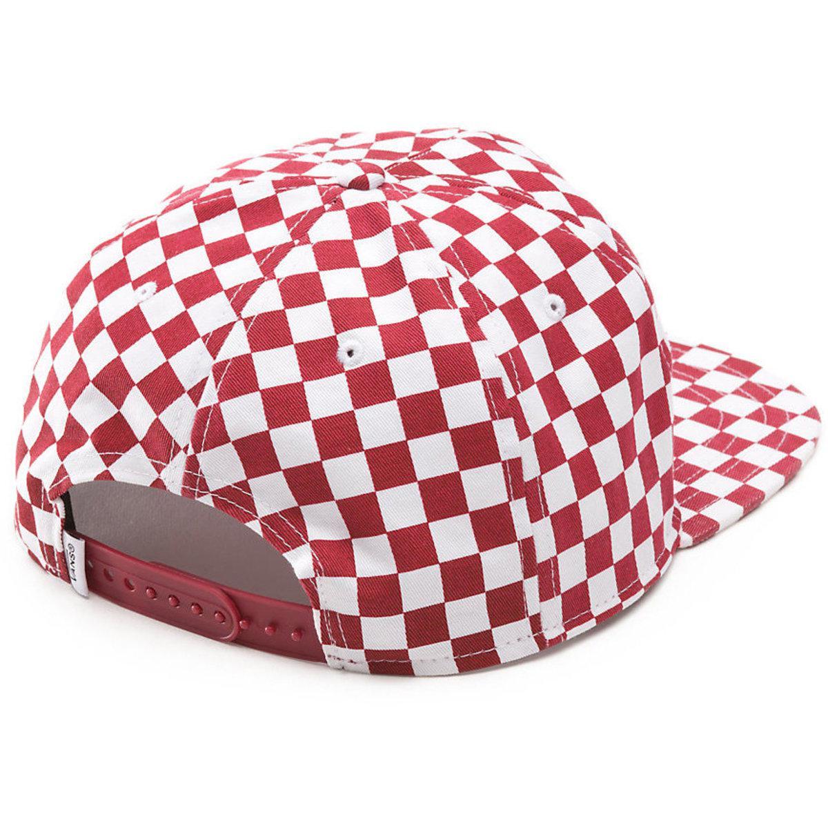 Vans - Red Van Doren Special Snapback Cap for Men - Lyst. View fullscreen 7a379a42ce8f