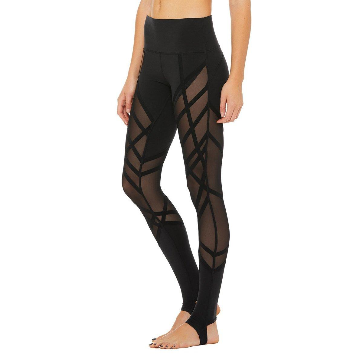 96476cf0e5d180 ... High-waist Wrapped Stirrup LEGGING – Womens - Lyst. View fullscreen