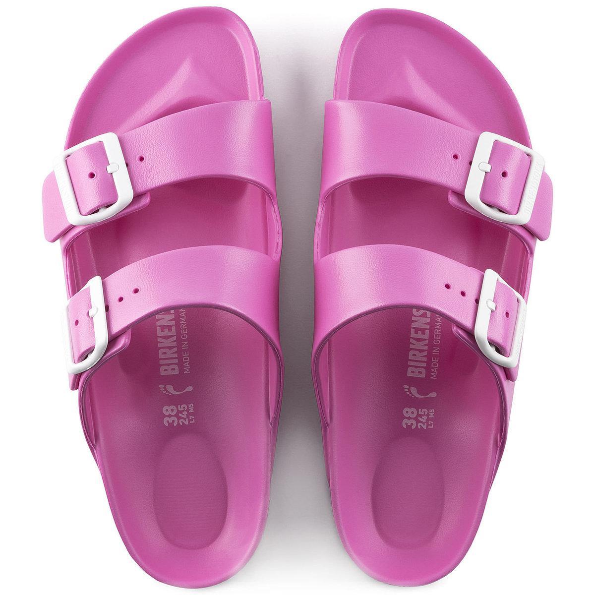557264258dea Birkenstock - Pink Arizona Essentials Eva Sandal - Lyst. View fullscreen