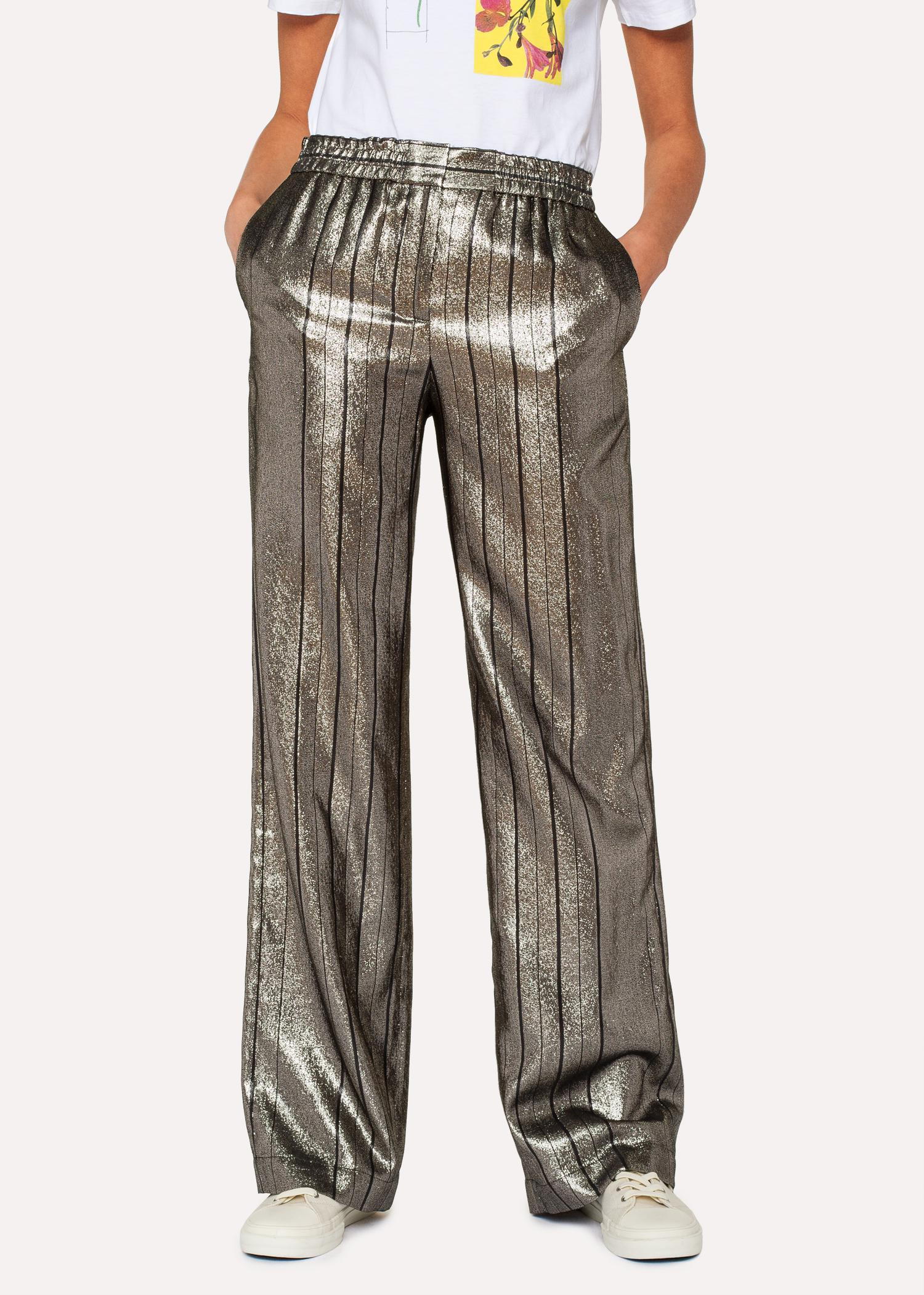 striped wide-leg trousers - Multicolour Paul Smith kfFNr6gE