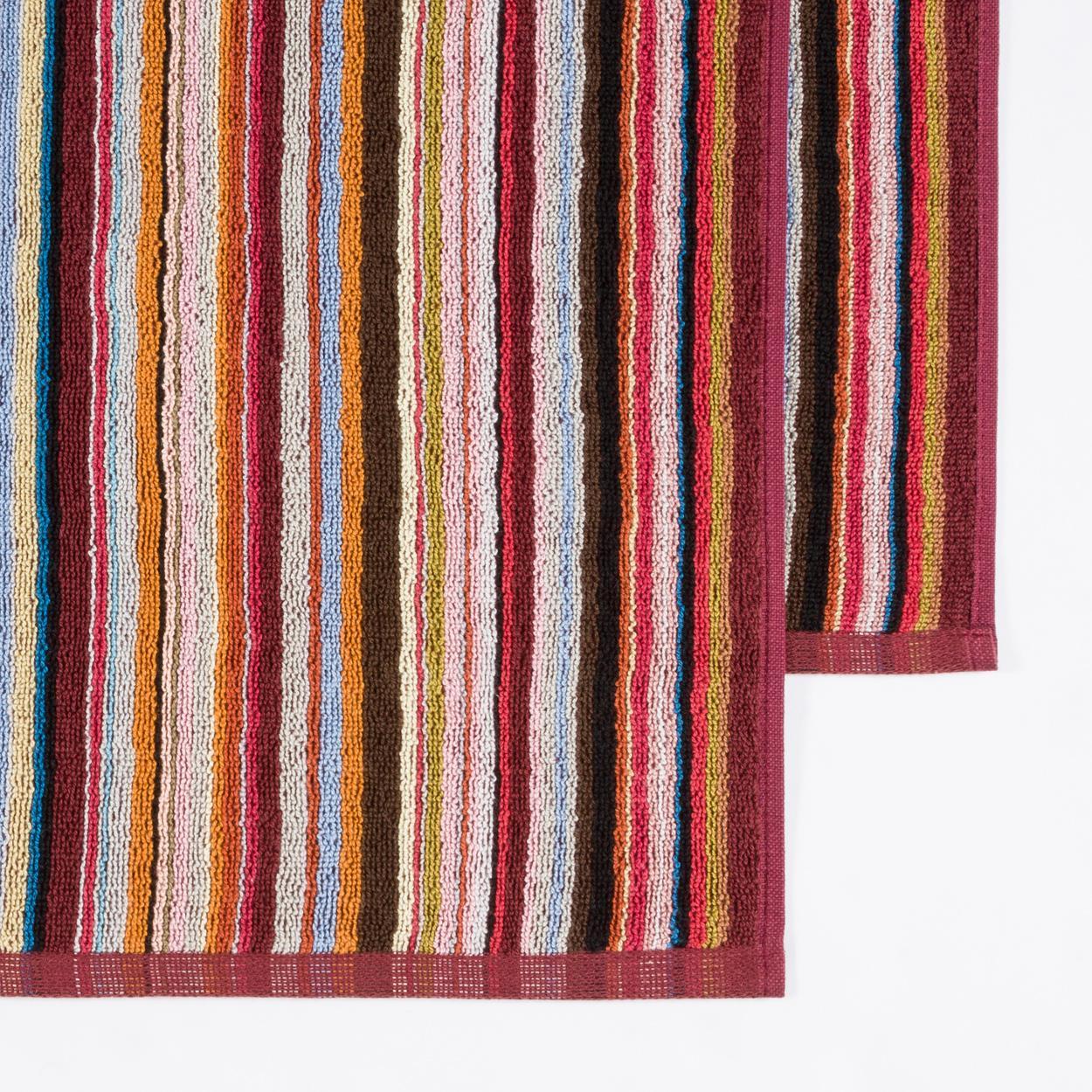 Ralph Lauren Mens Beach Towel: Paul Smith Signature Stripe Beach Towel In Multicolor For
