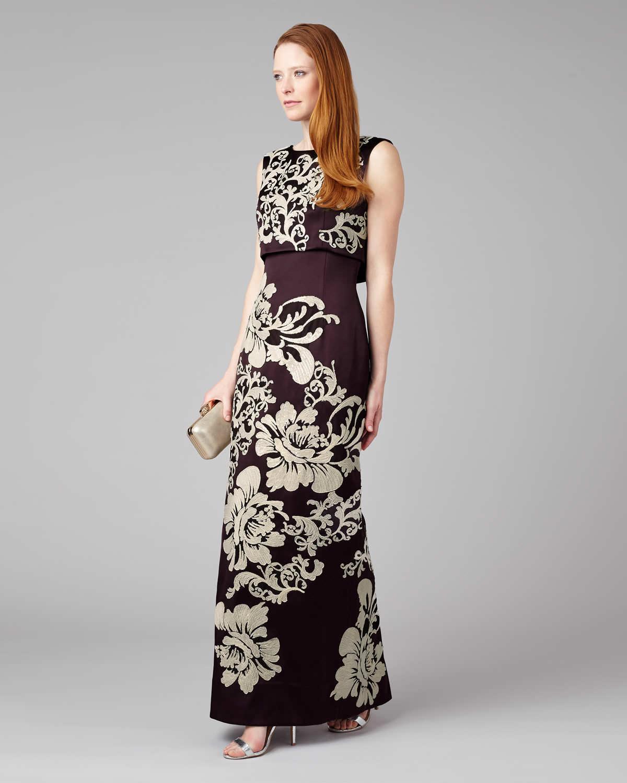 3eea3e0e01286 Phase Eight. Women's Doris Embroidered Full Length Dress