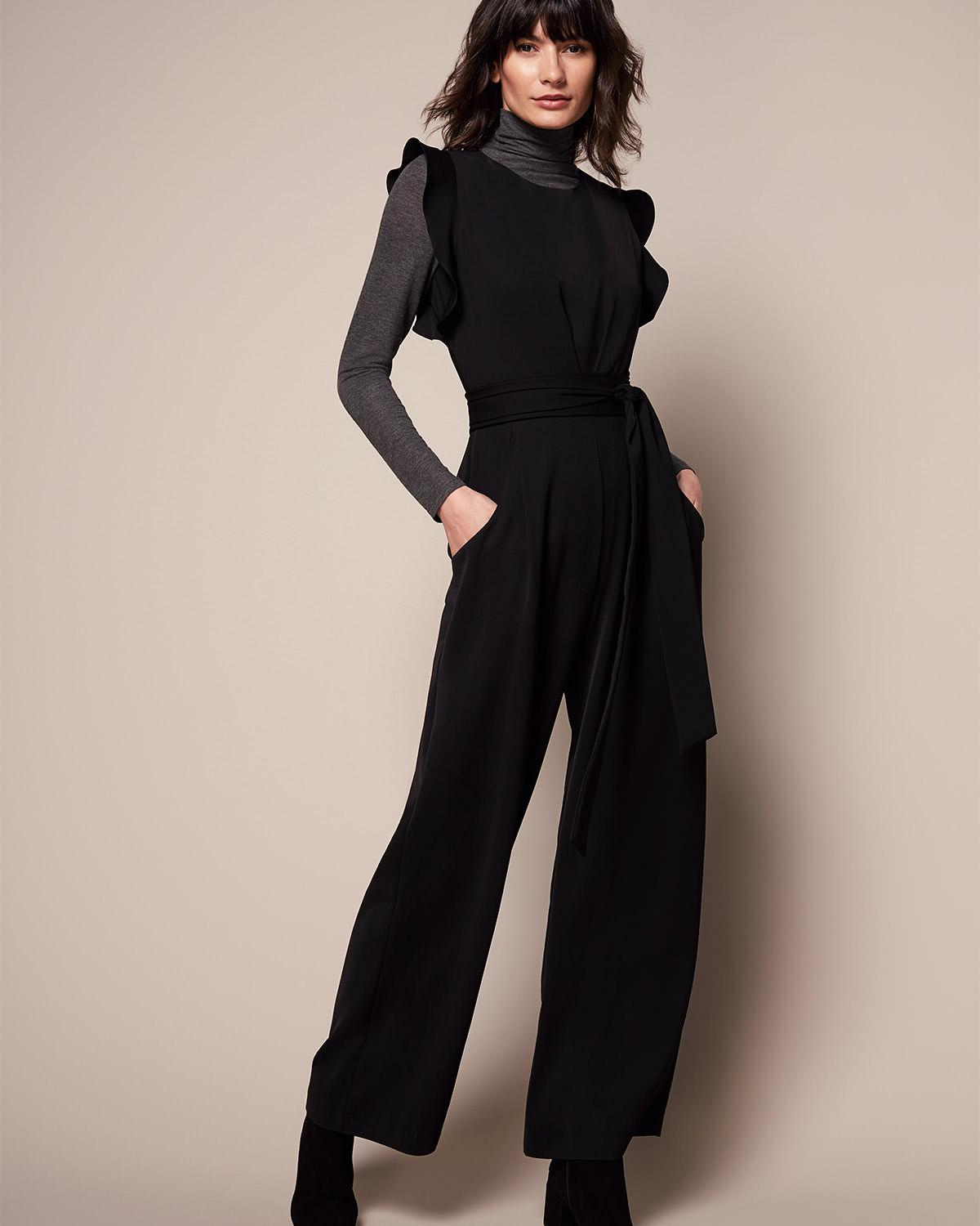 4d9b04ec7a5 Phase Eight Victoriana Jumpsuit in Black - Lyst