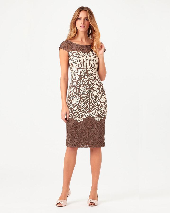 Phase eight Akiko Tapework Dress | Lyst