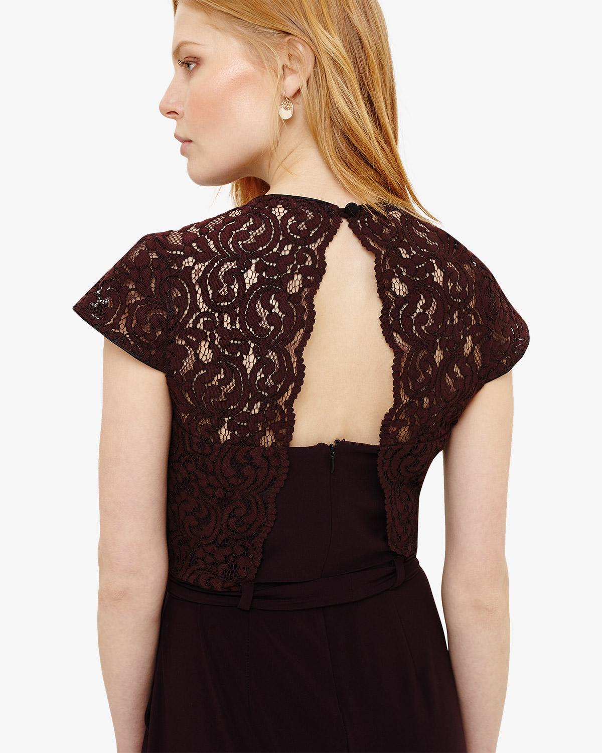 a2a4cfe852 Phase Eight Vicki Lace Bodice Jumpsuit in Black - Save 31% - Lyst