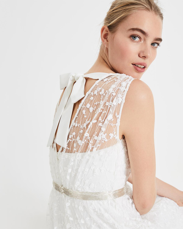 58b9217278 Phase Eight Amalia Embroidered Wedding Dress in White - Lyst