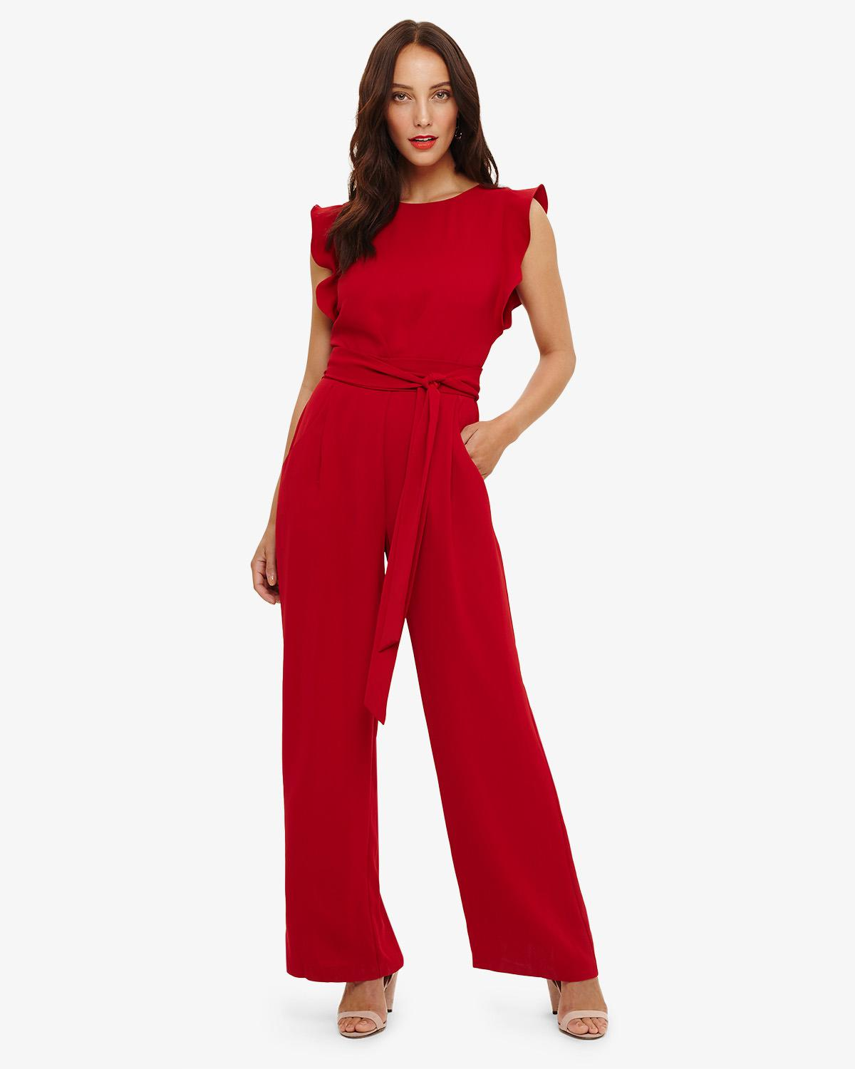 8dbfd4063c Phase Eight Victoriana Jumpsuit in Red - Save 20% - Lyst