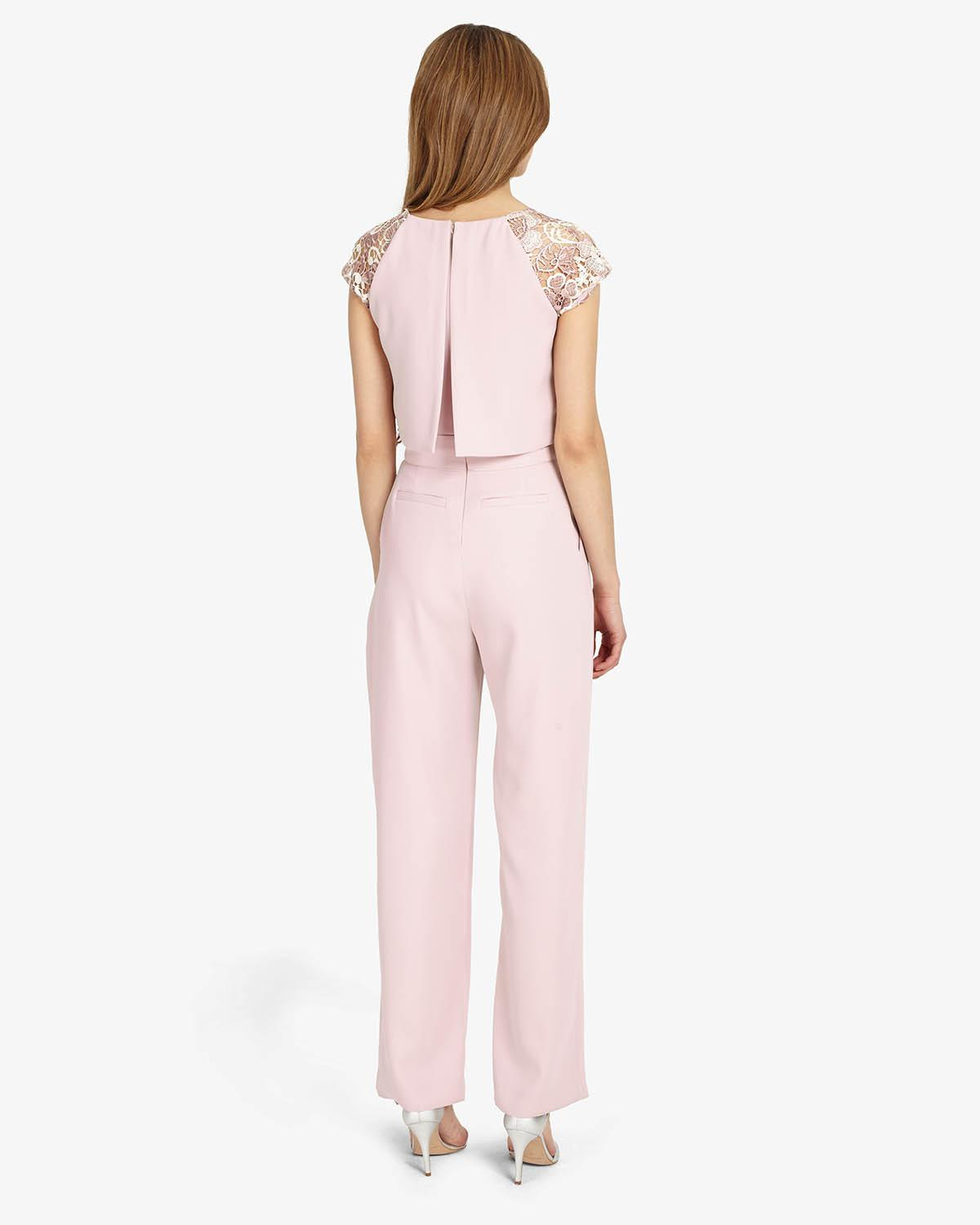 849239778df Lyst - Phase Eight Cortine Lace Jumpsuit