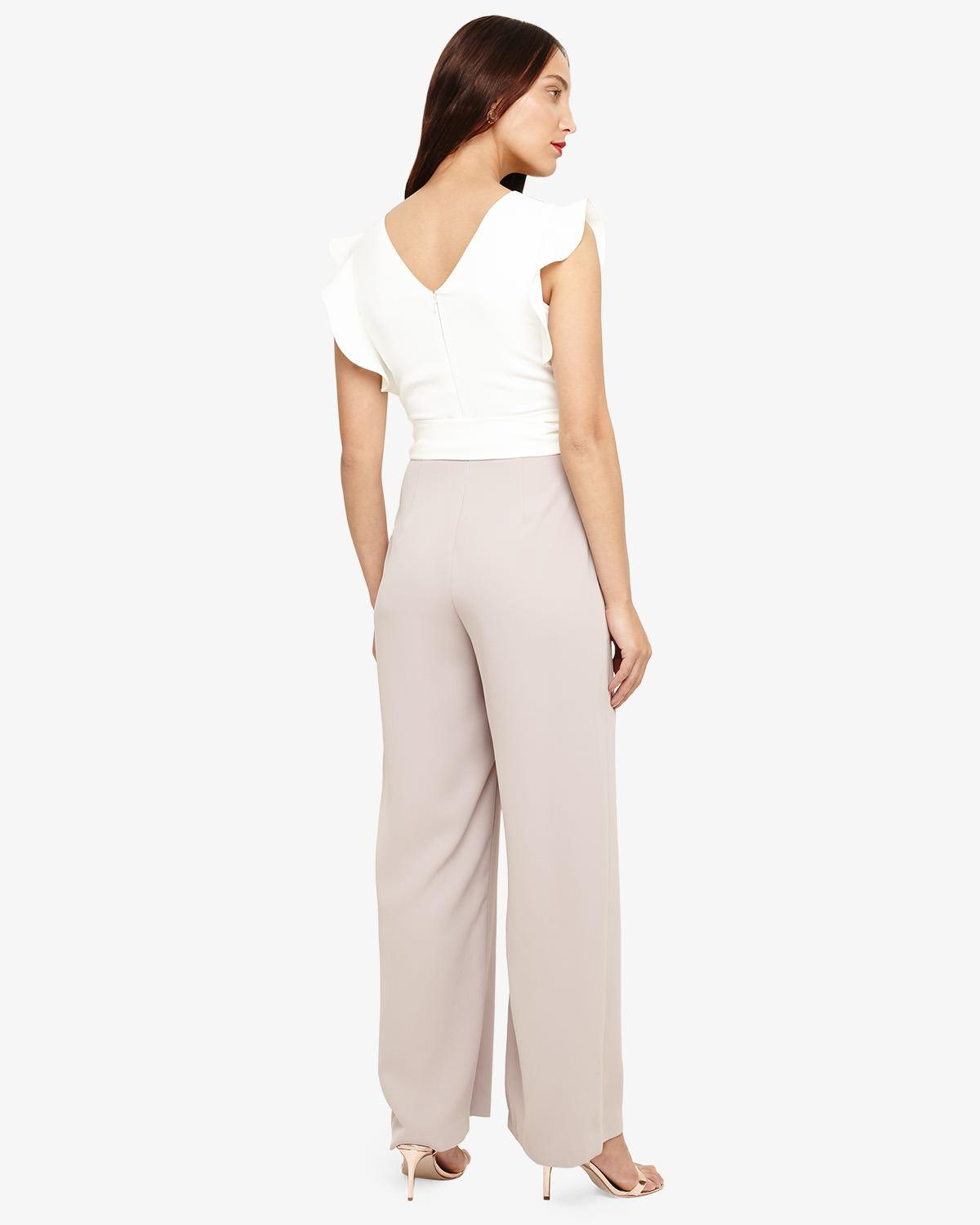 7b46d73040 Phase Eight Victoriana Jumpsuit in White - Save 16% - Lyst