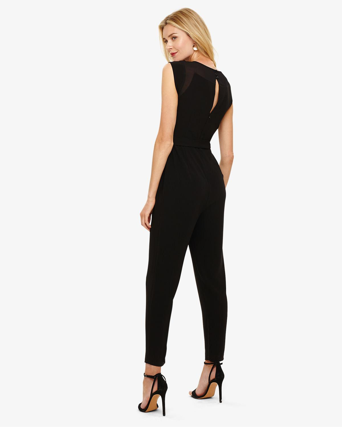 4e92d573aee3 Phase Eight Saffy Jumpsuit in Black - Lyst