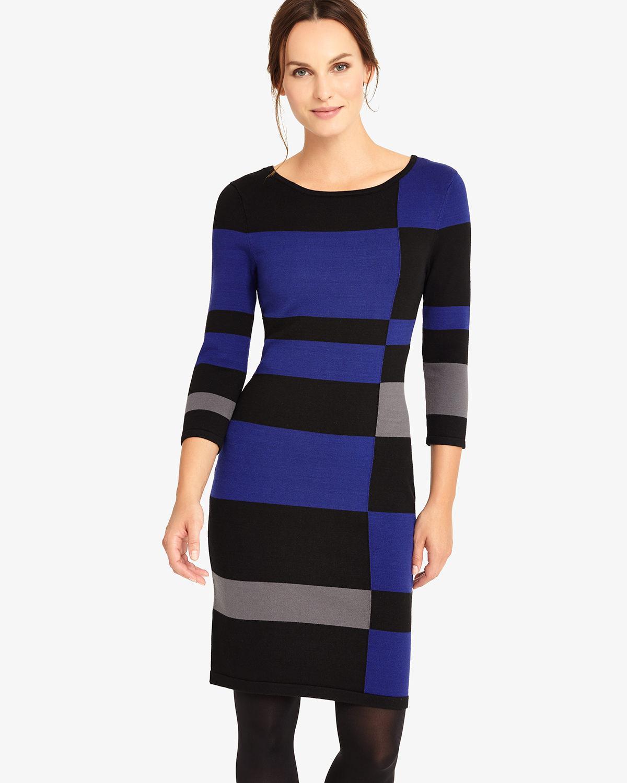 b150f5fb9 Phase Eight Mackenzie Colourblock Dress - Lyst