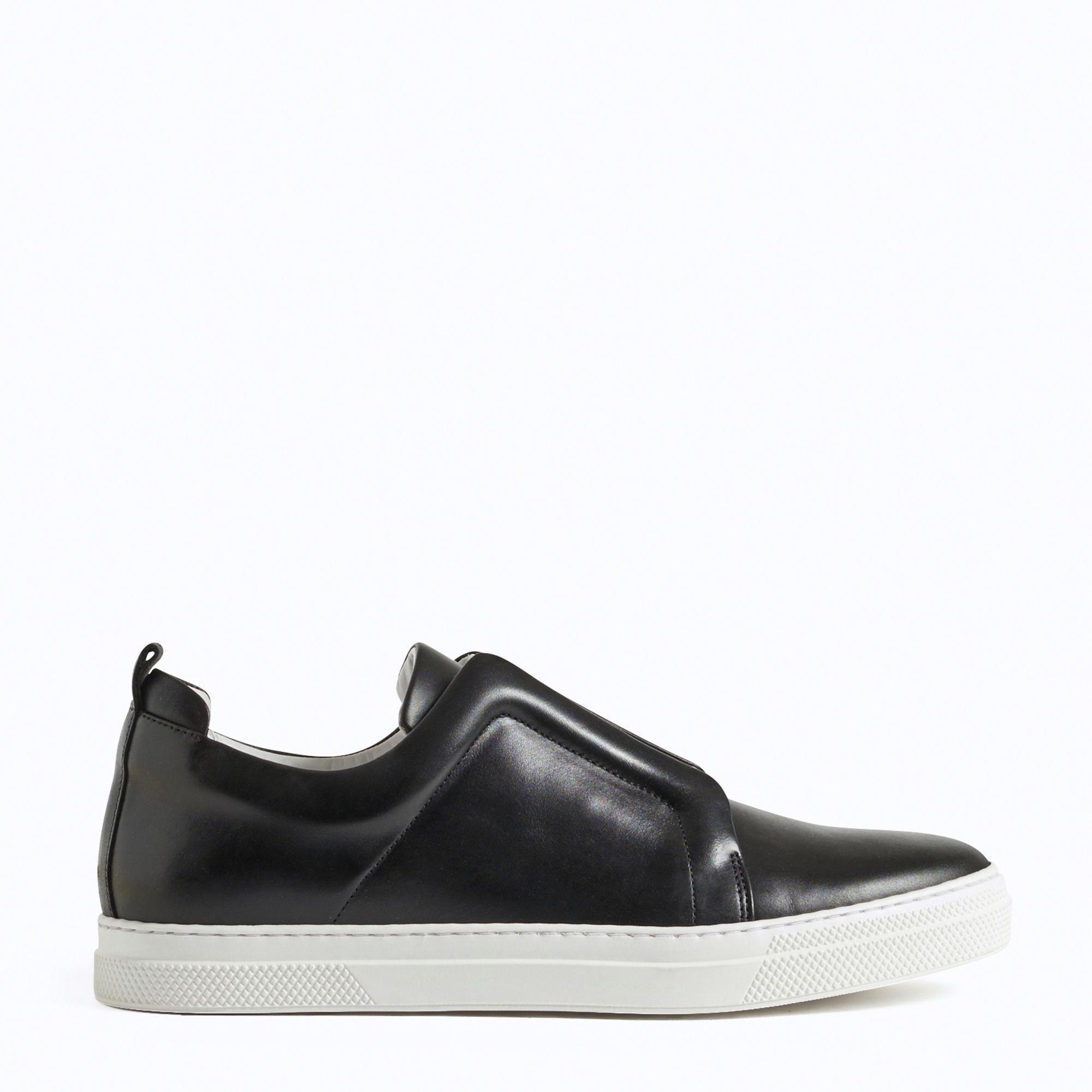 Pierre Hardy Black Velvet Slider Sneakers feKaqL