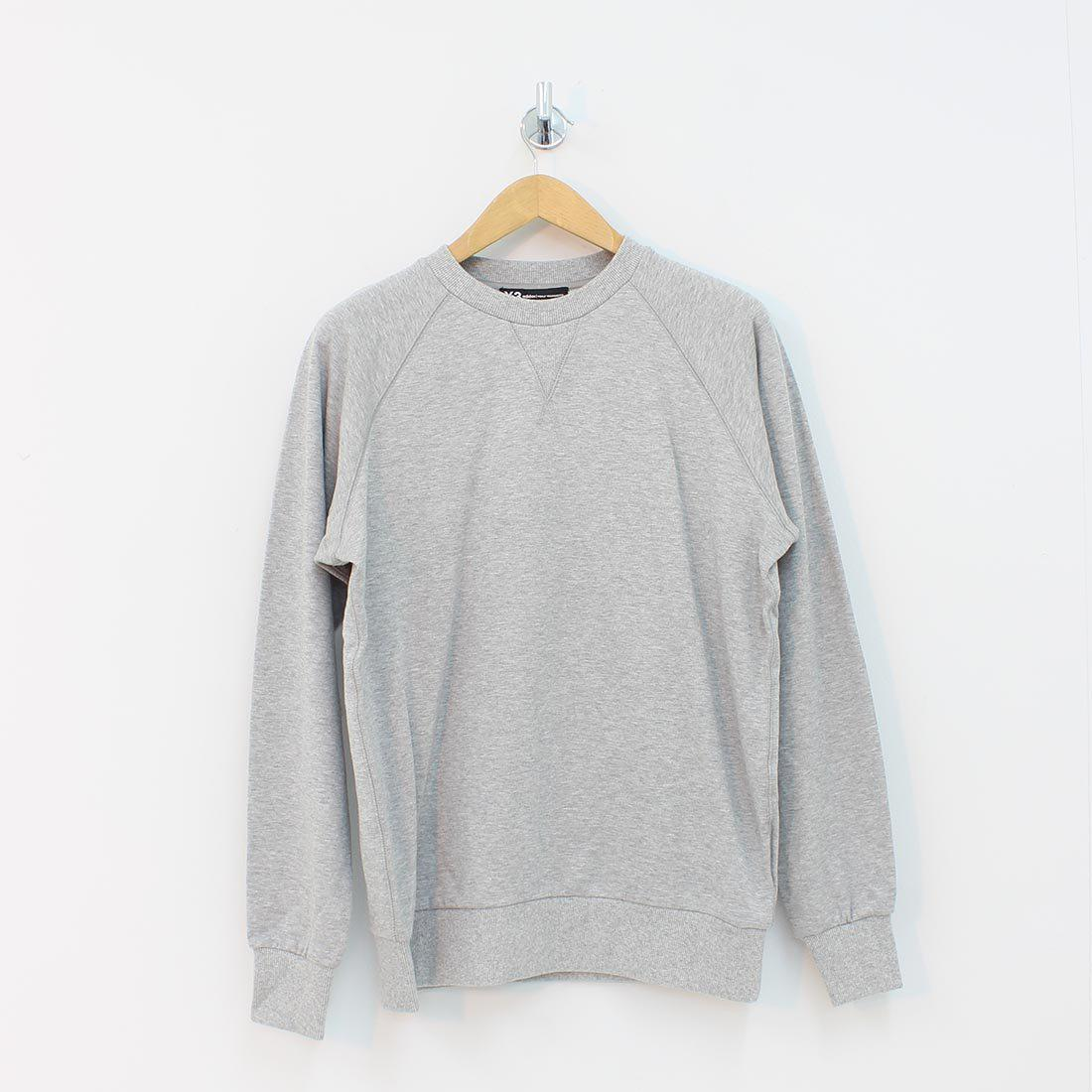 Lyst - Y-3 Adidas M Cl Crew Sweat Lb Grey in Gray for Men 56d2ce88ac5d