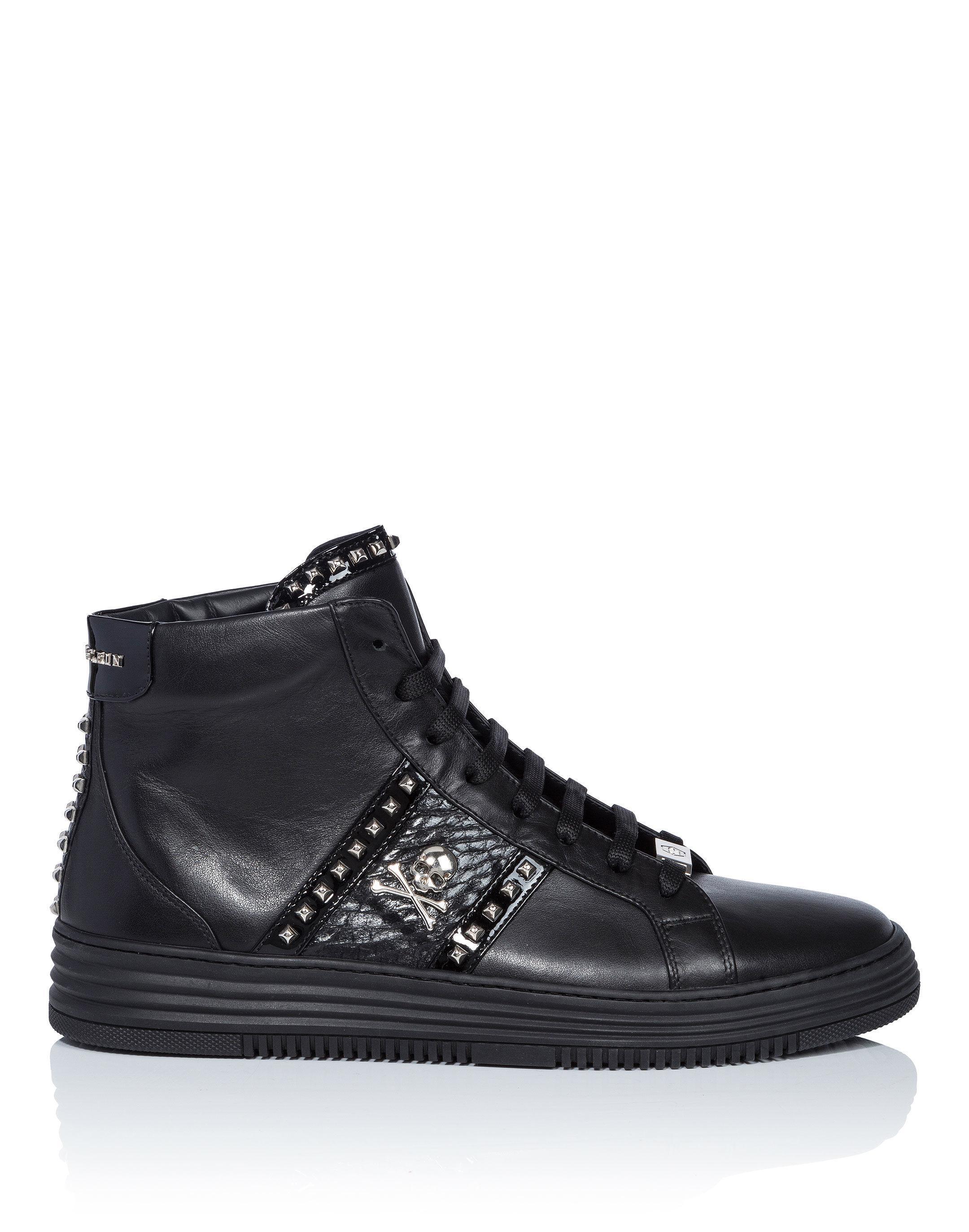 Vancouver hi-top sneakers - Black Philipp Plein Wemek