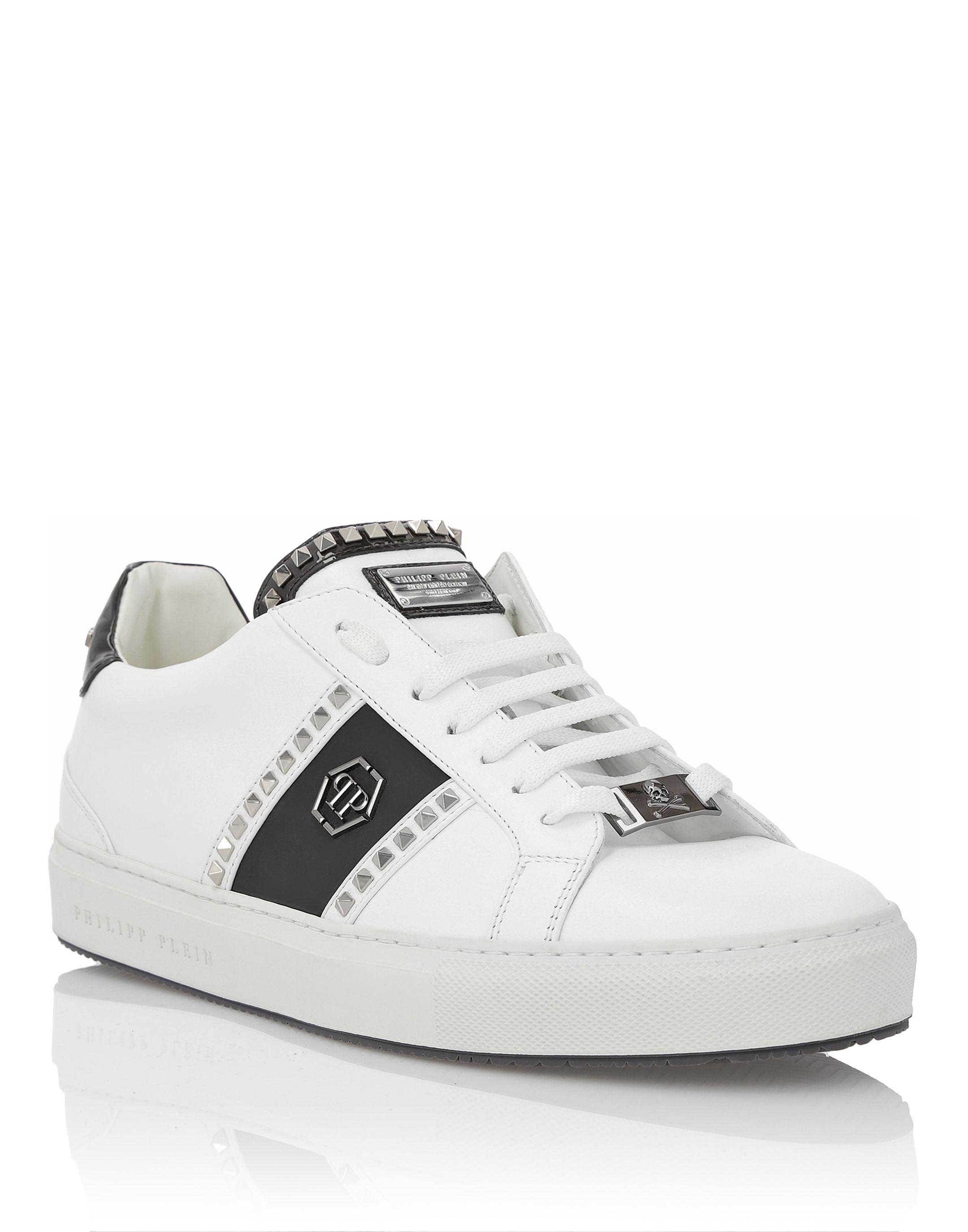 Philipp Plein Studs and Logo sneakers BeAs7GX84a