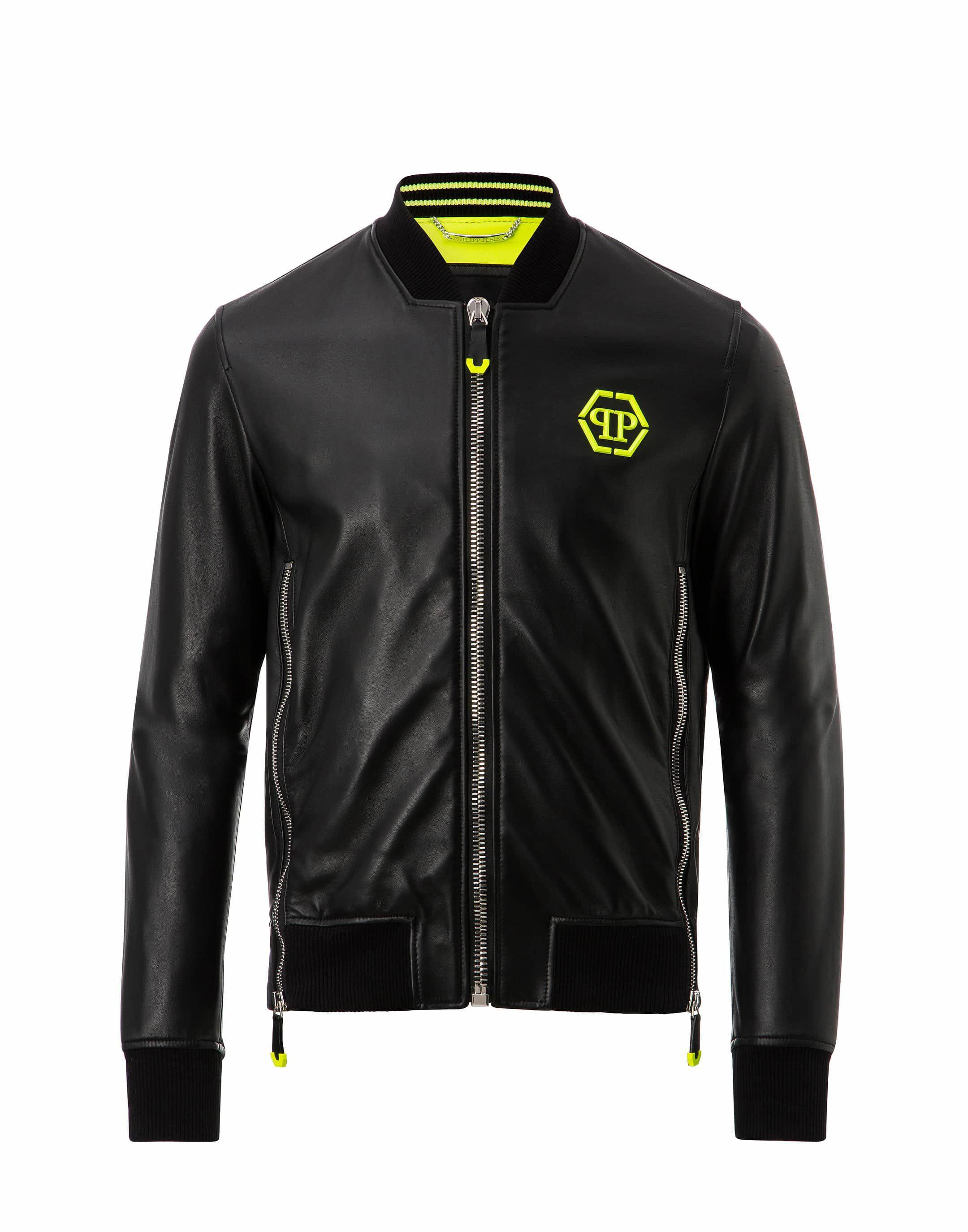 Philipp Plein Aggressive bomber jacket - Black Top Quality Cheap Online Clearance Huge Surprise Sale Online Cheap Online Manchester Great Sale Sale Online U9YYO
