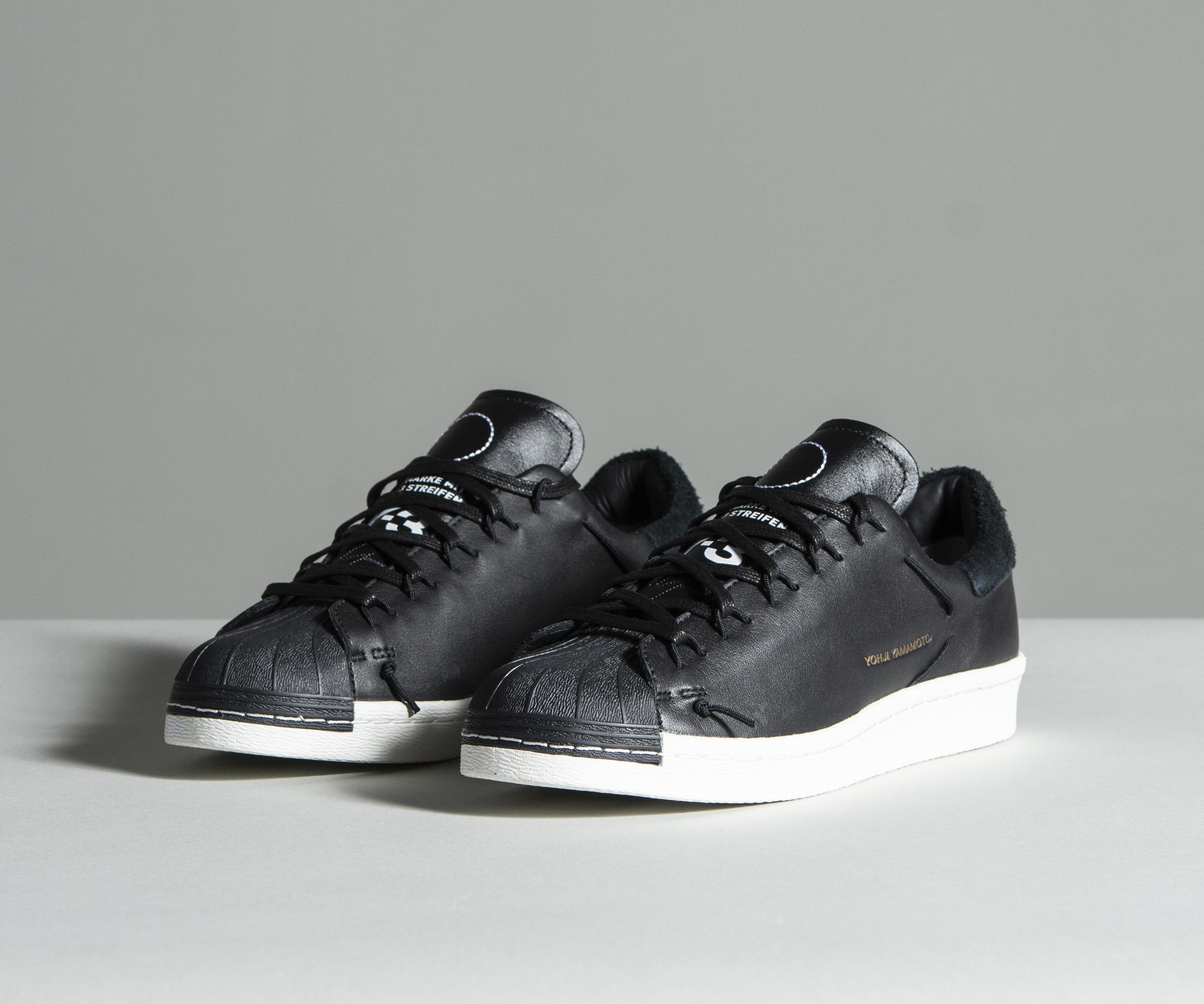 Y-3  super Knot  Low-top Leather Trainers Black in Black for Men - Lyst 2afa953fd