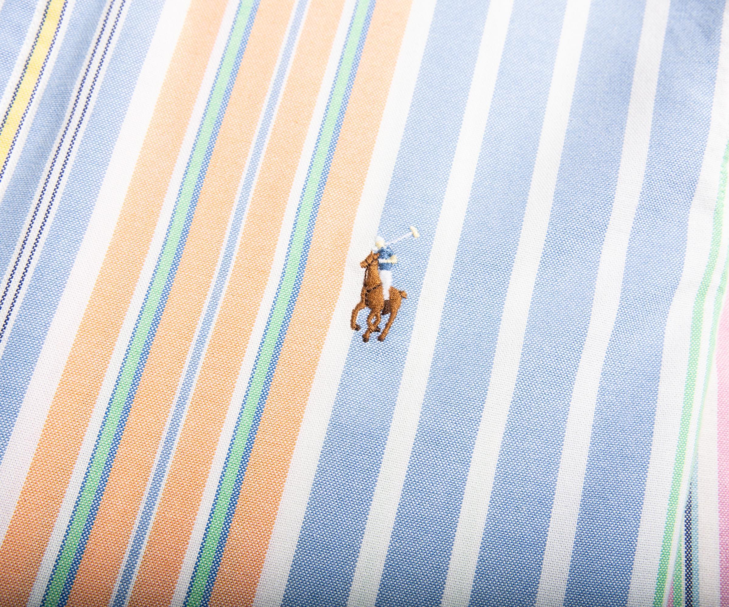 Polo Ralph Lauren Multi-colored Striped Short Sleeve