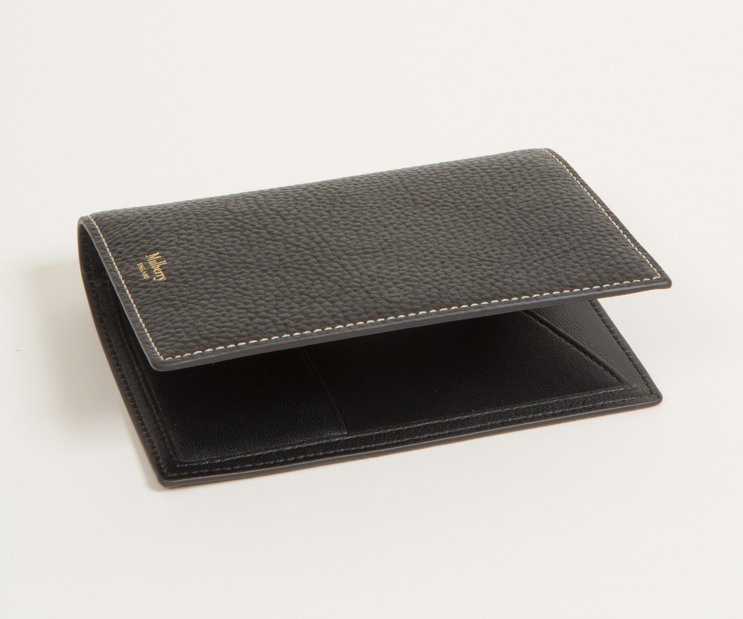 b6f7a7a2c0fd ... best mulberry leather passport travel wallet black for men lyst. view  fullscreen 75c0d 2ac95