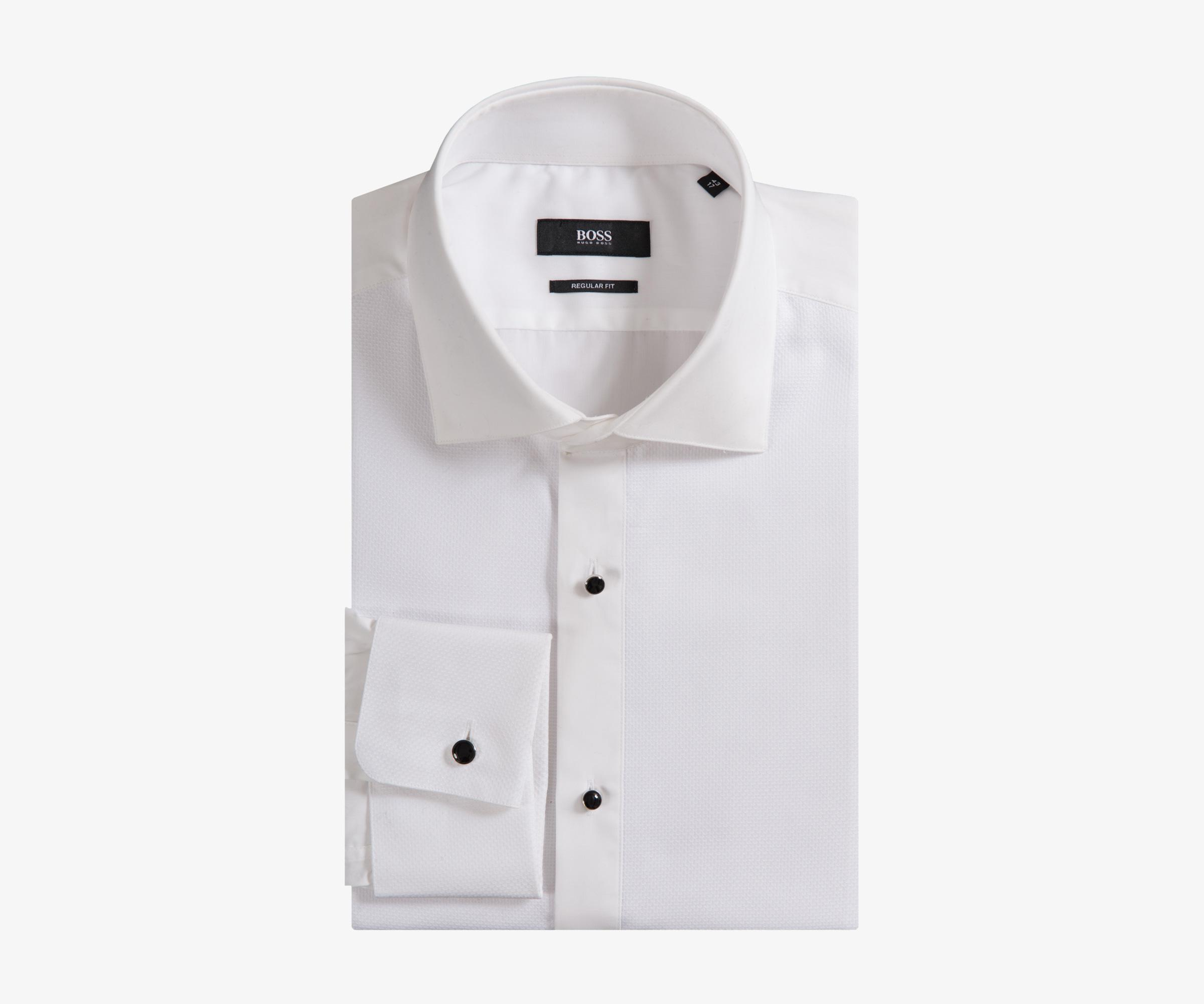 4937b4e5 BOSS 'gustavo' Evening Double Cuff Dress Shirt White in White for ...