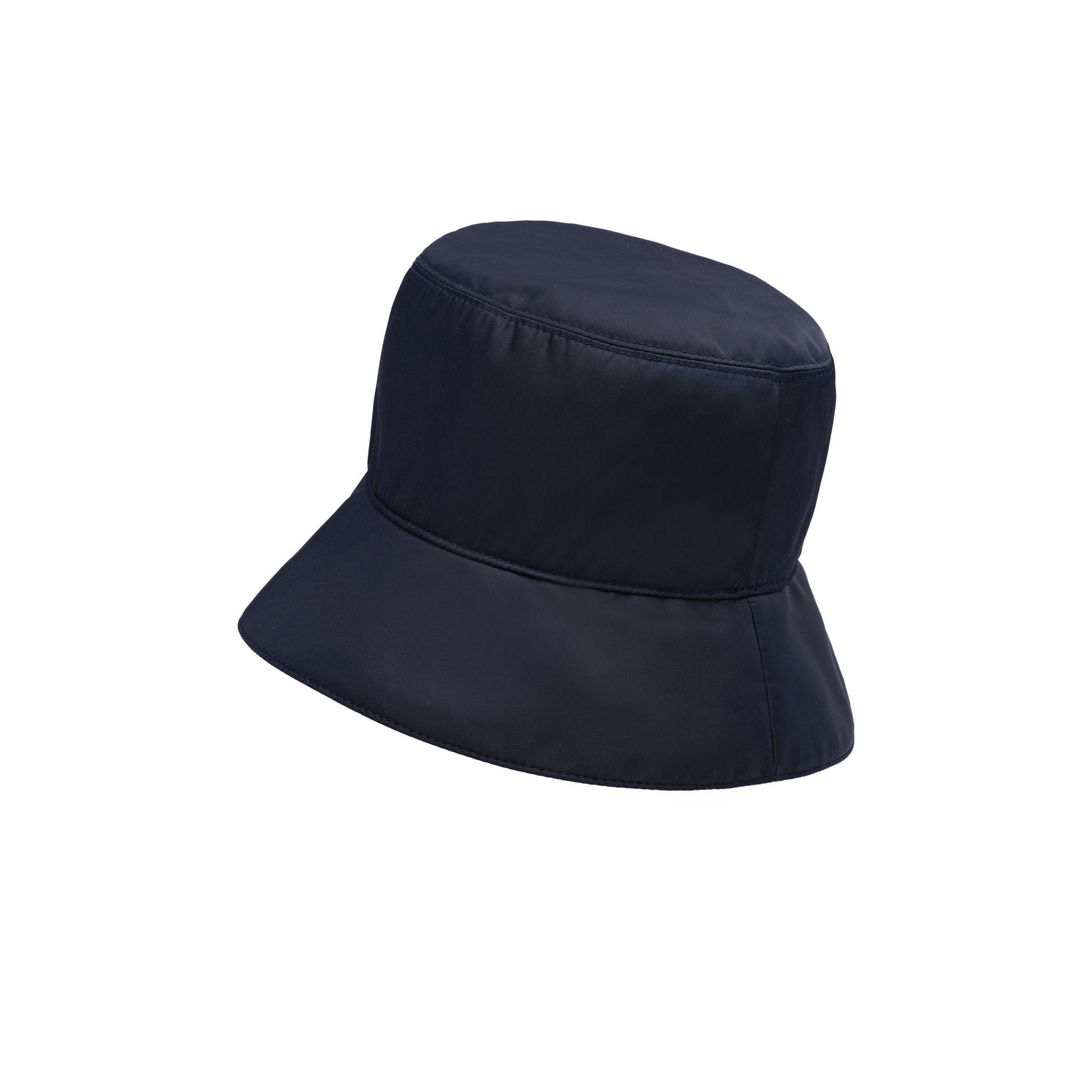 Lyst - Prada Nylon Rain Hat in Blue 4f5696b8517d
