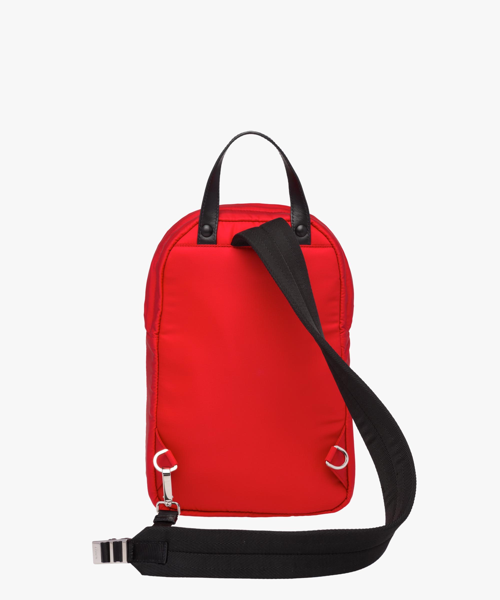 e7d765c211754b Prada Nylon One-shoulder Backpack in Red for Men - Lyst