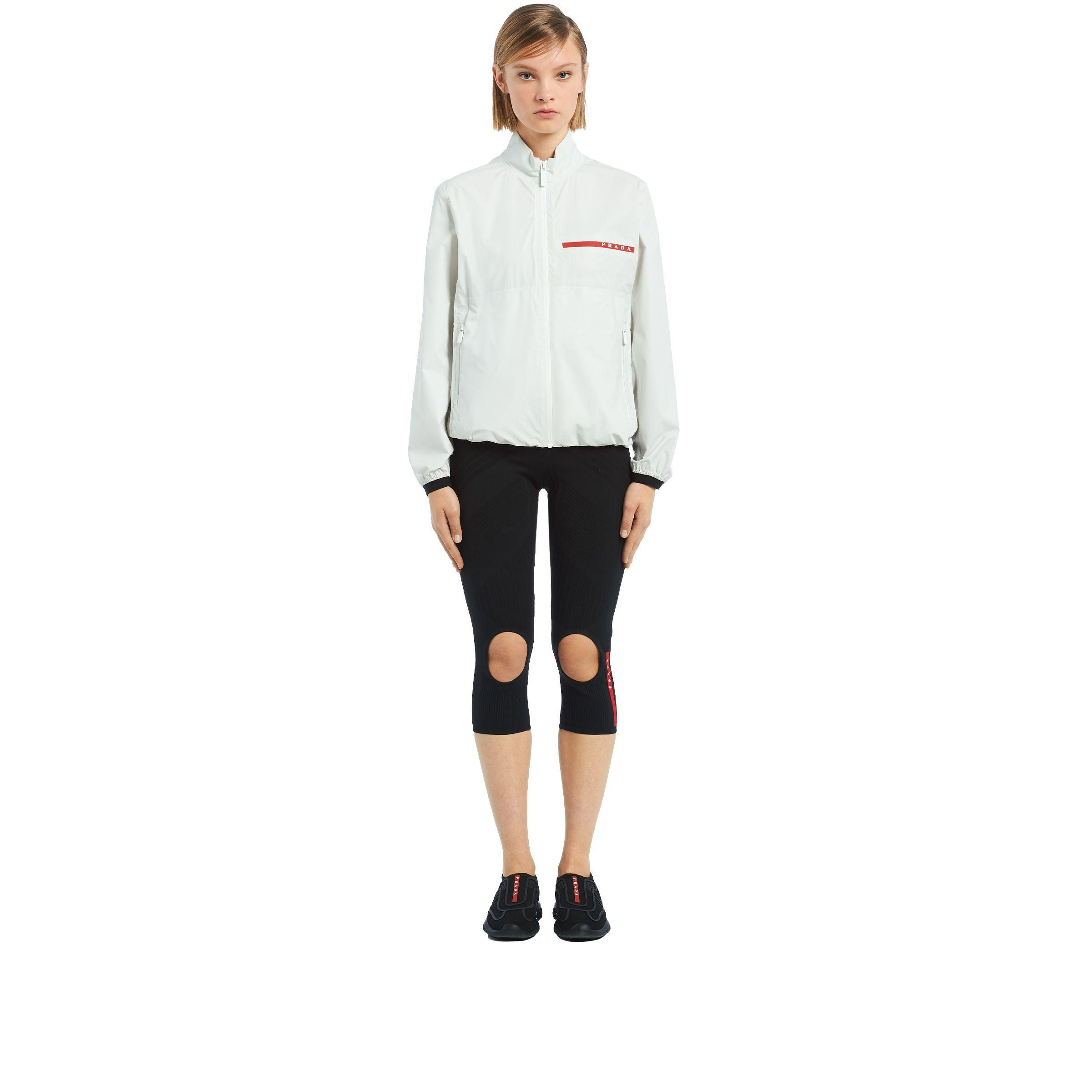 e11f1b71a2ebb Prada - Multicolor Nylon Jacket - Lyst