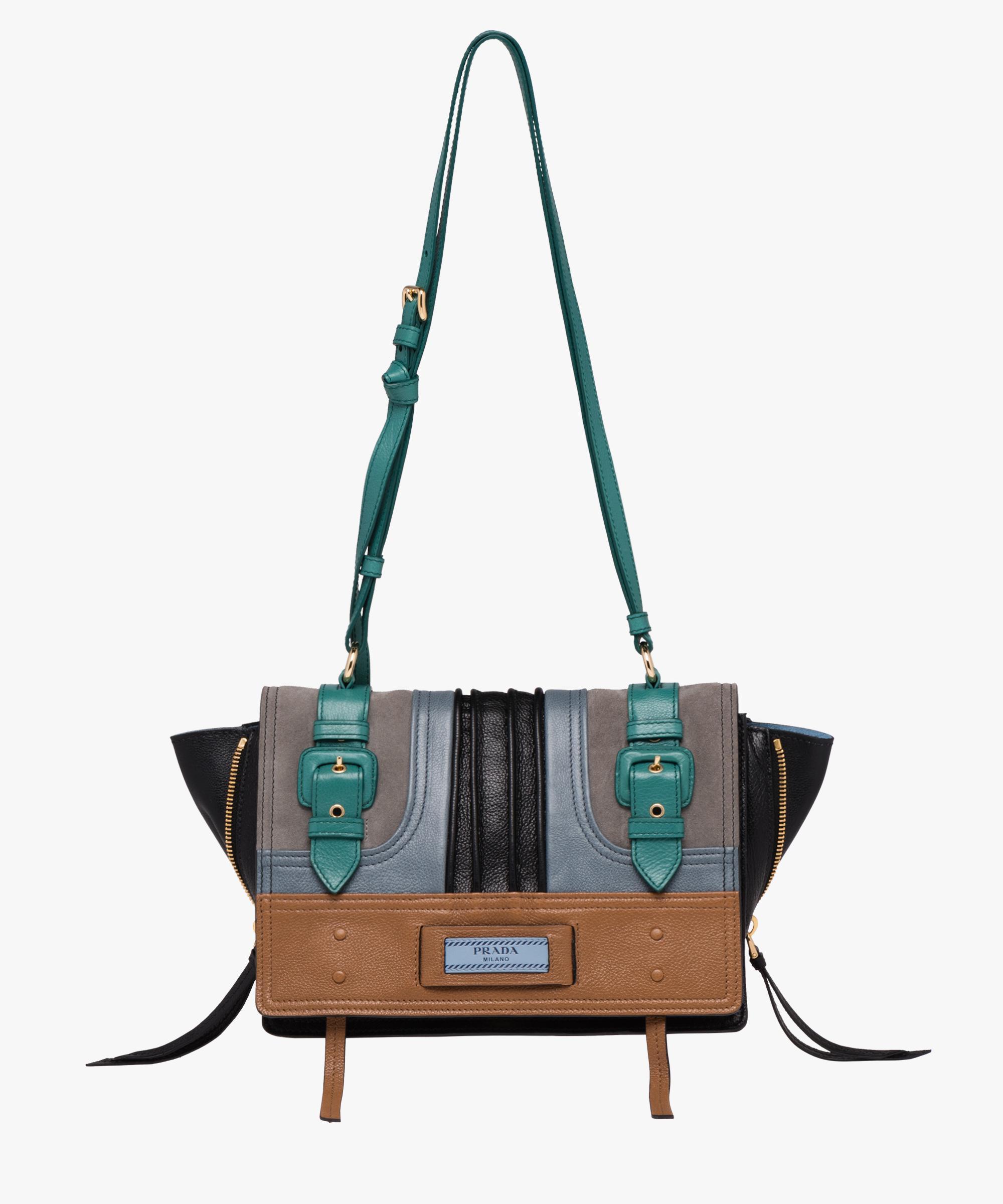 4c7838cb19d0 Lyst - Prada Etiquette Bag in Blue