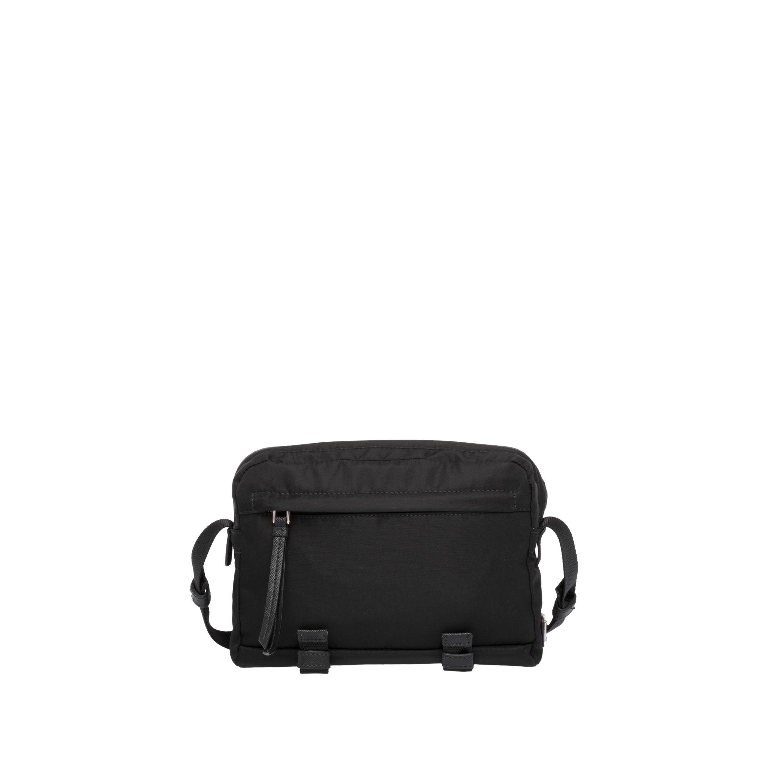 df6391ed6e4f Prada - Black Printed Technical Fabric Bandoleer Bag for Men - Lyst. View  fullscreen