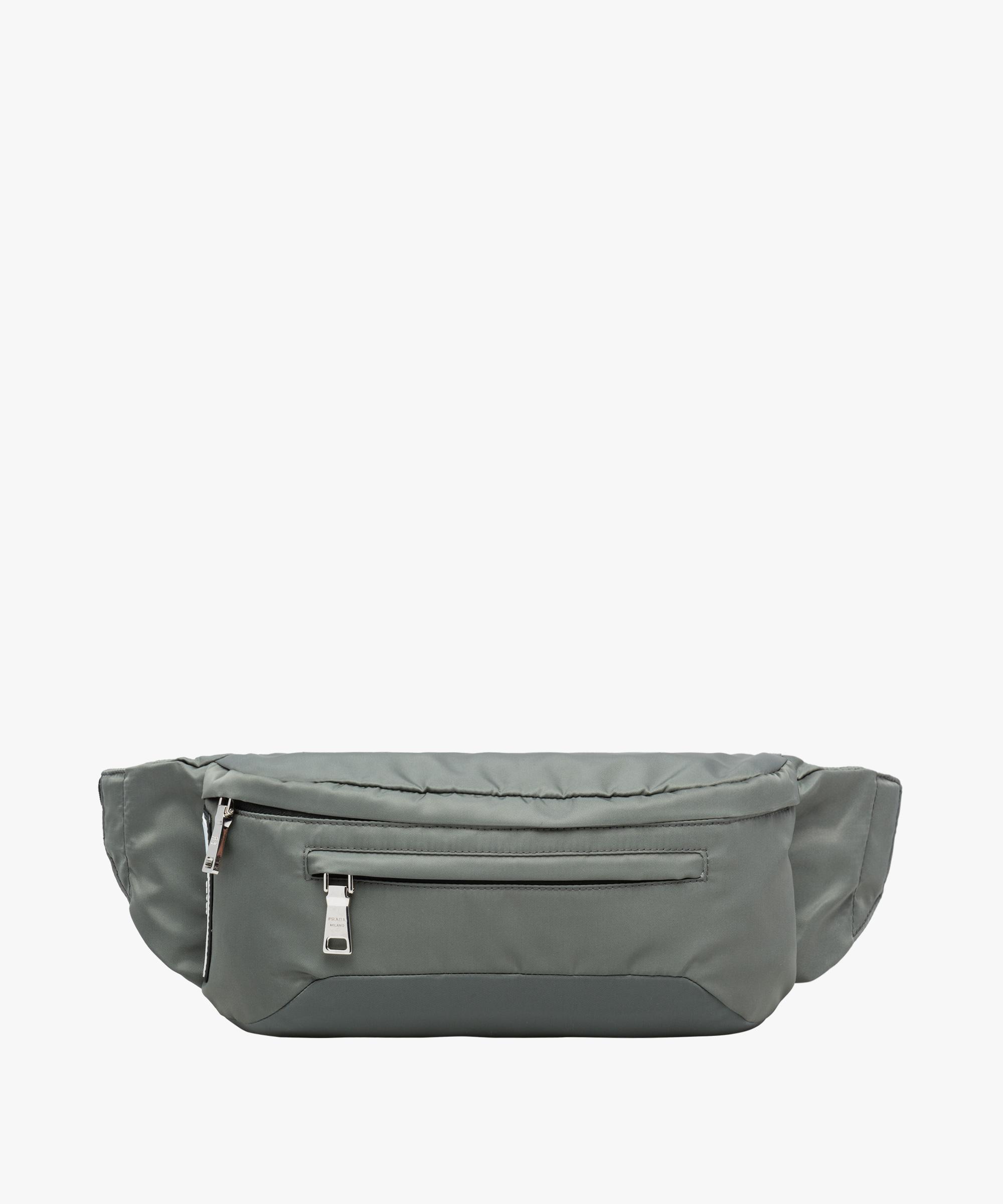 f2b2c94a5380 Prada Technical Fabric Belt Bag in Gray for Men - Lyst