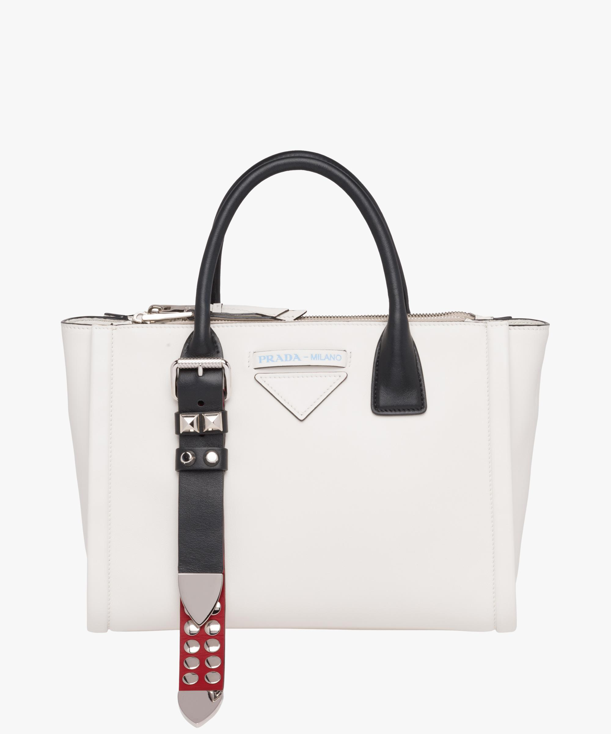 ... purchase gallery. previously sold at prada womens leather handbags  665ef fe364 95dbb84af0360