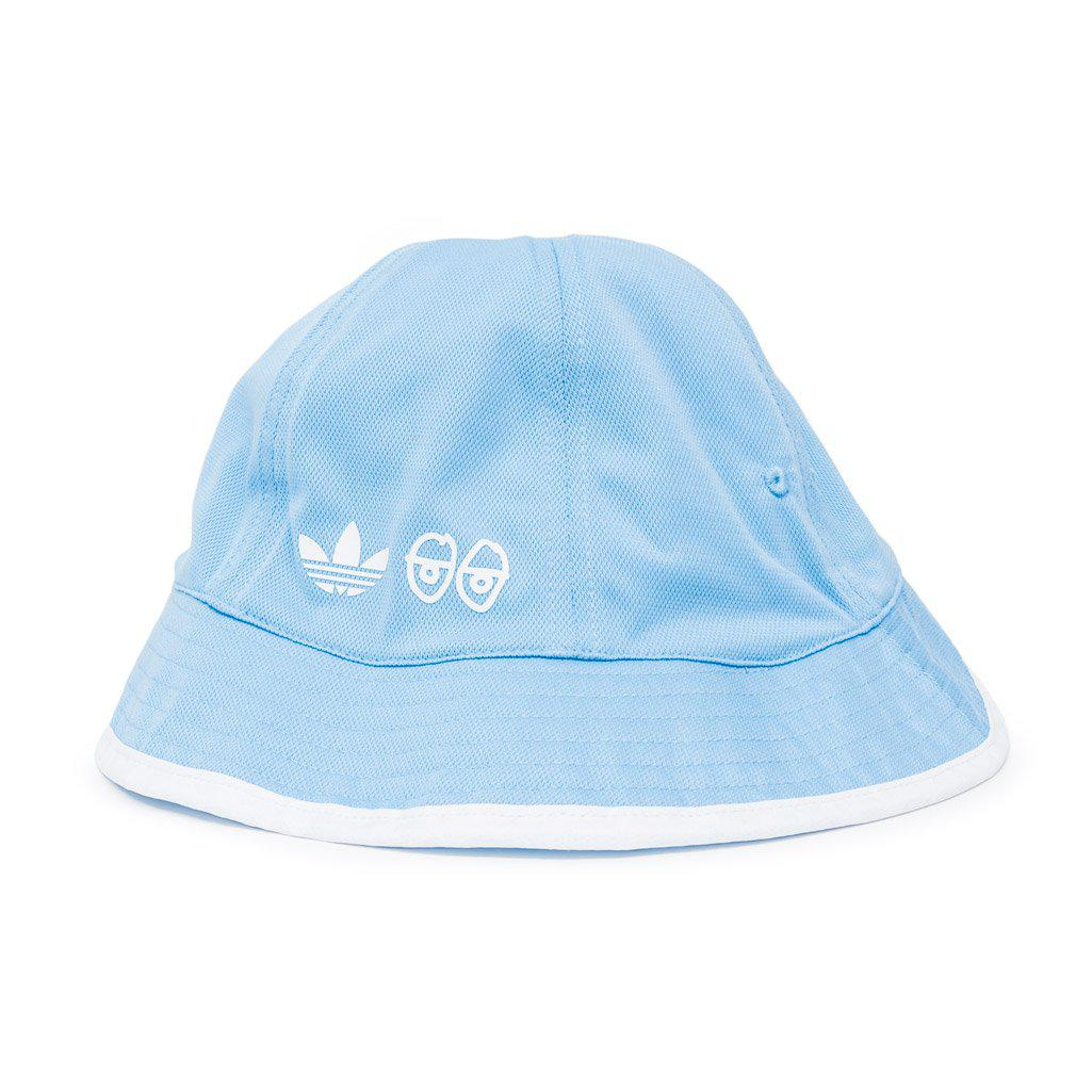 30f2ccbf3c7 Lyst - adidas X Krooked Reversible Bucket Hat in Blue