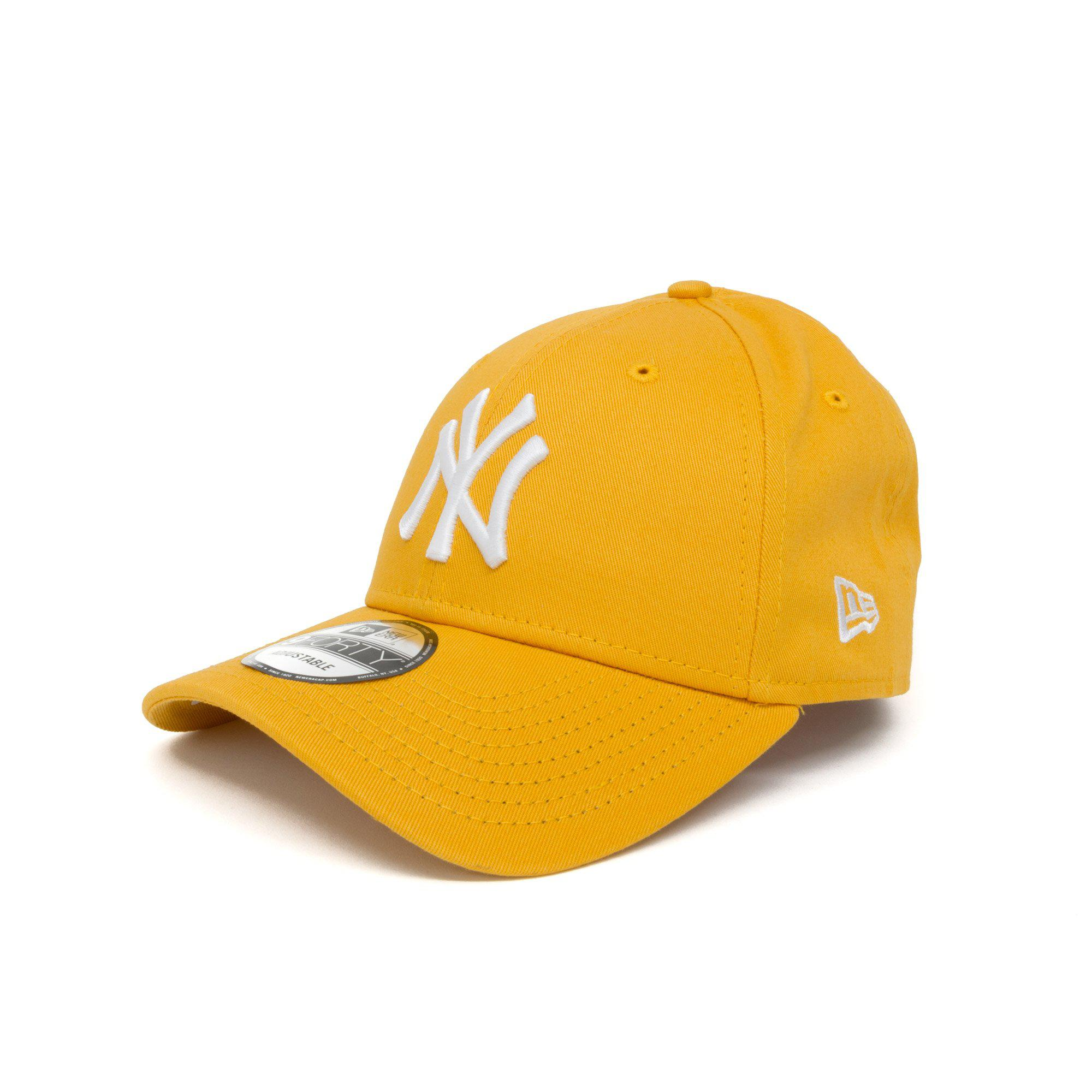 a3dd0608bbe KTZ New York Yankees Essential 9forty Cap in Yellow for Men - Lyst