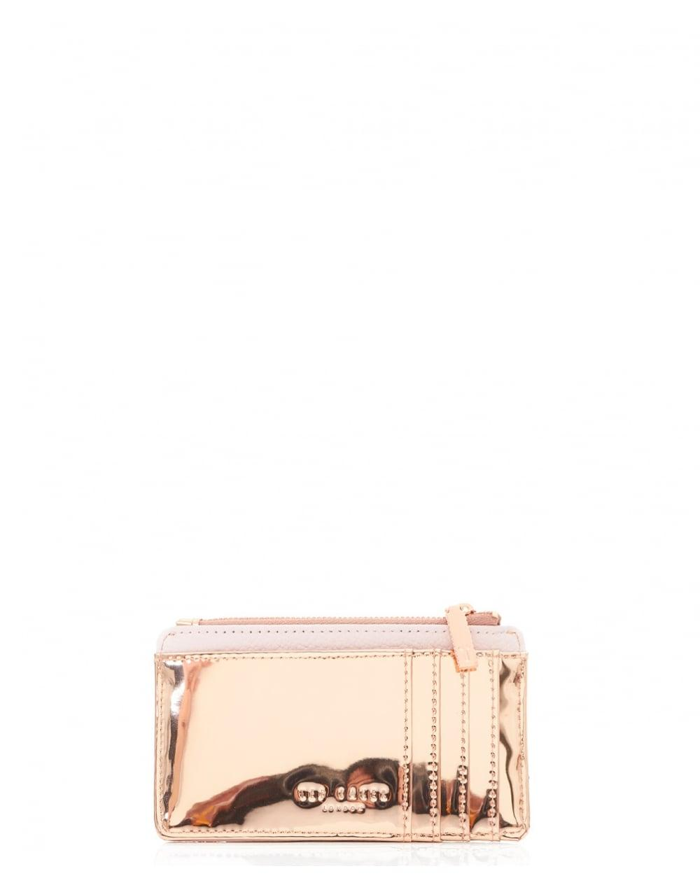 Lyst Ted Baker Coin Purse And Pom Keyring Gift Set In Pink