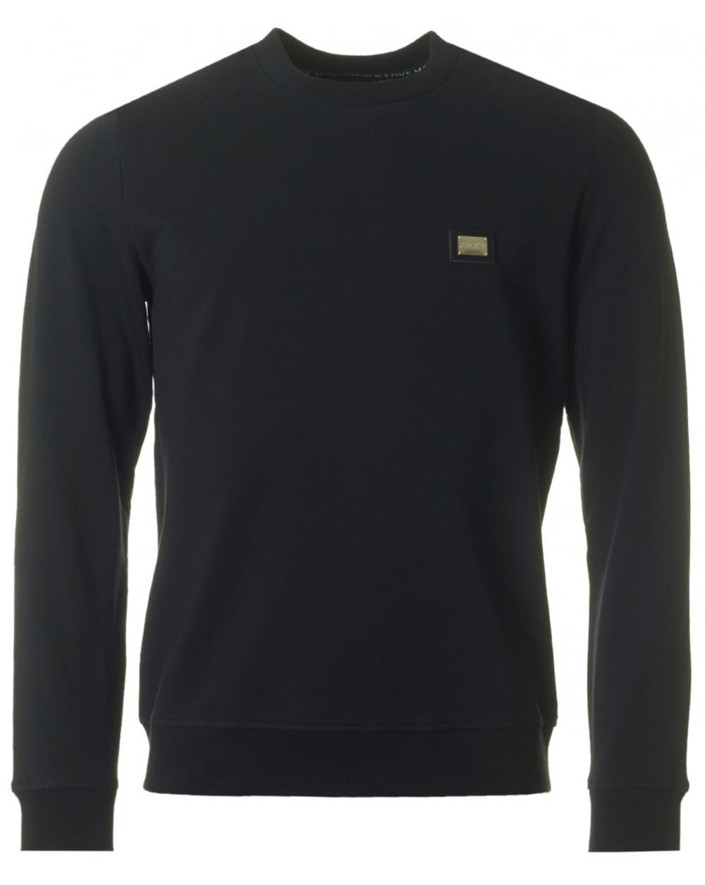 crew neck sweatshirt - Black Les Hommes Find Great Online Free Shipping Really Marketable Cheap Online R5wFzzMn