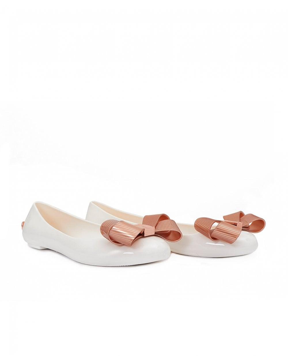 e35137c74 Ted Baker. Women s White Bow Front Jelly Court Shoes
